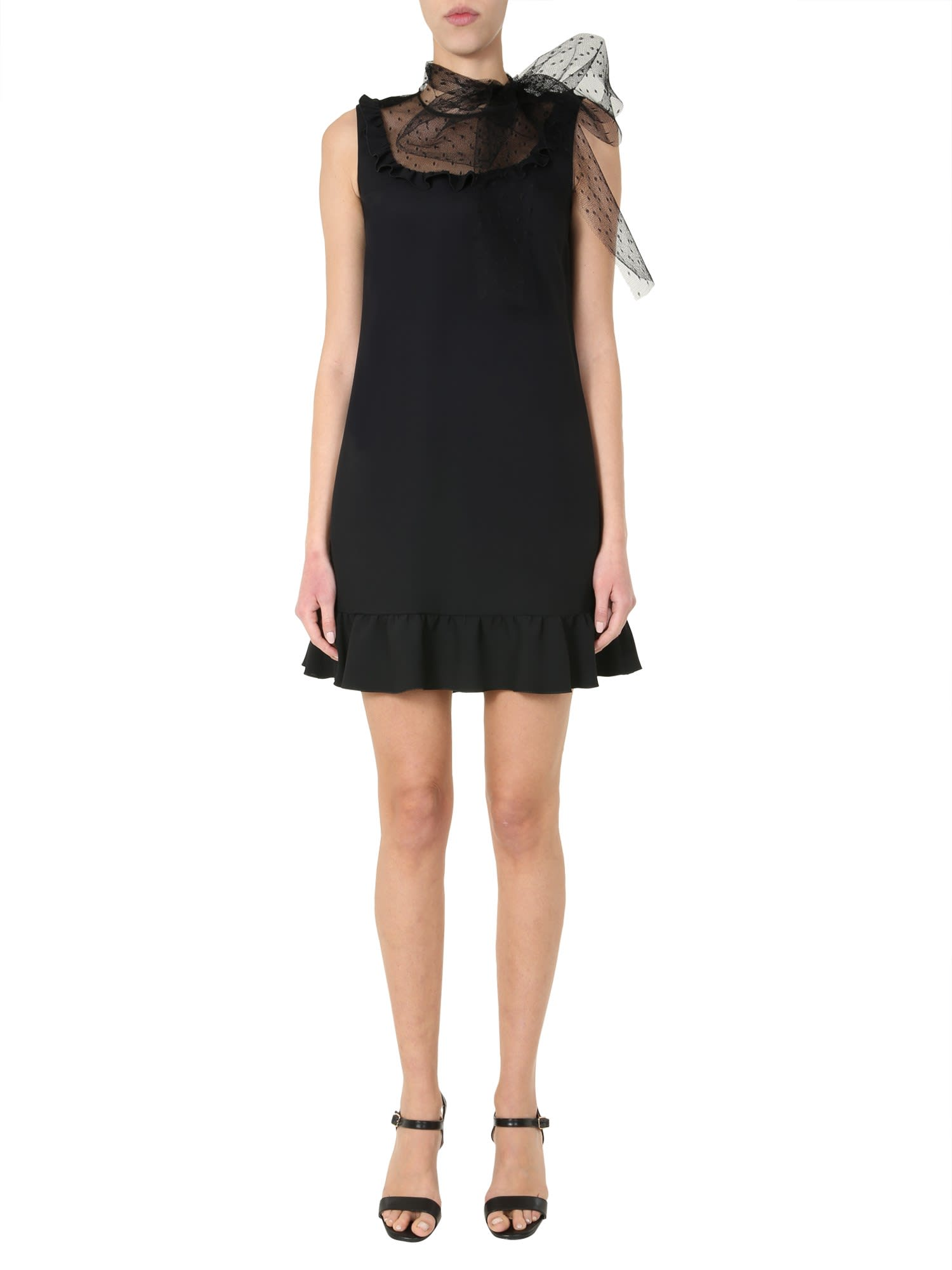 Buy RED Valentino Midi Dress online, shop RED Valentino with free shipping