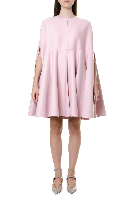 Valentino Wool-cashmere Blend Cape