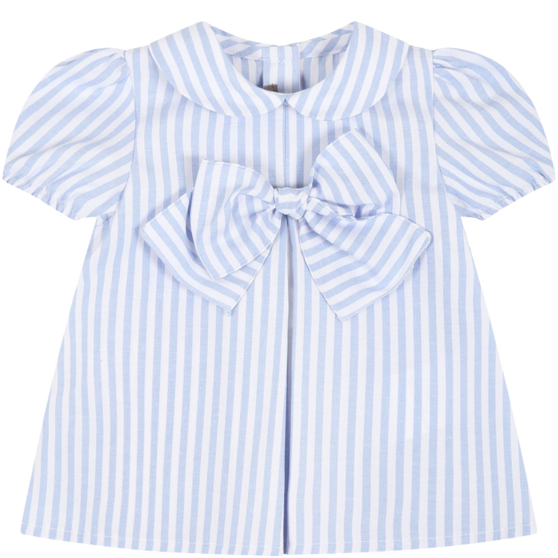 Little Bear Cottons MULTICOLOR SHIRT FOR BABY GIRL
