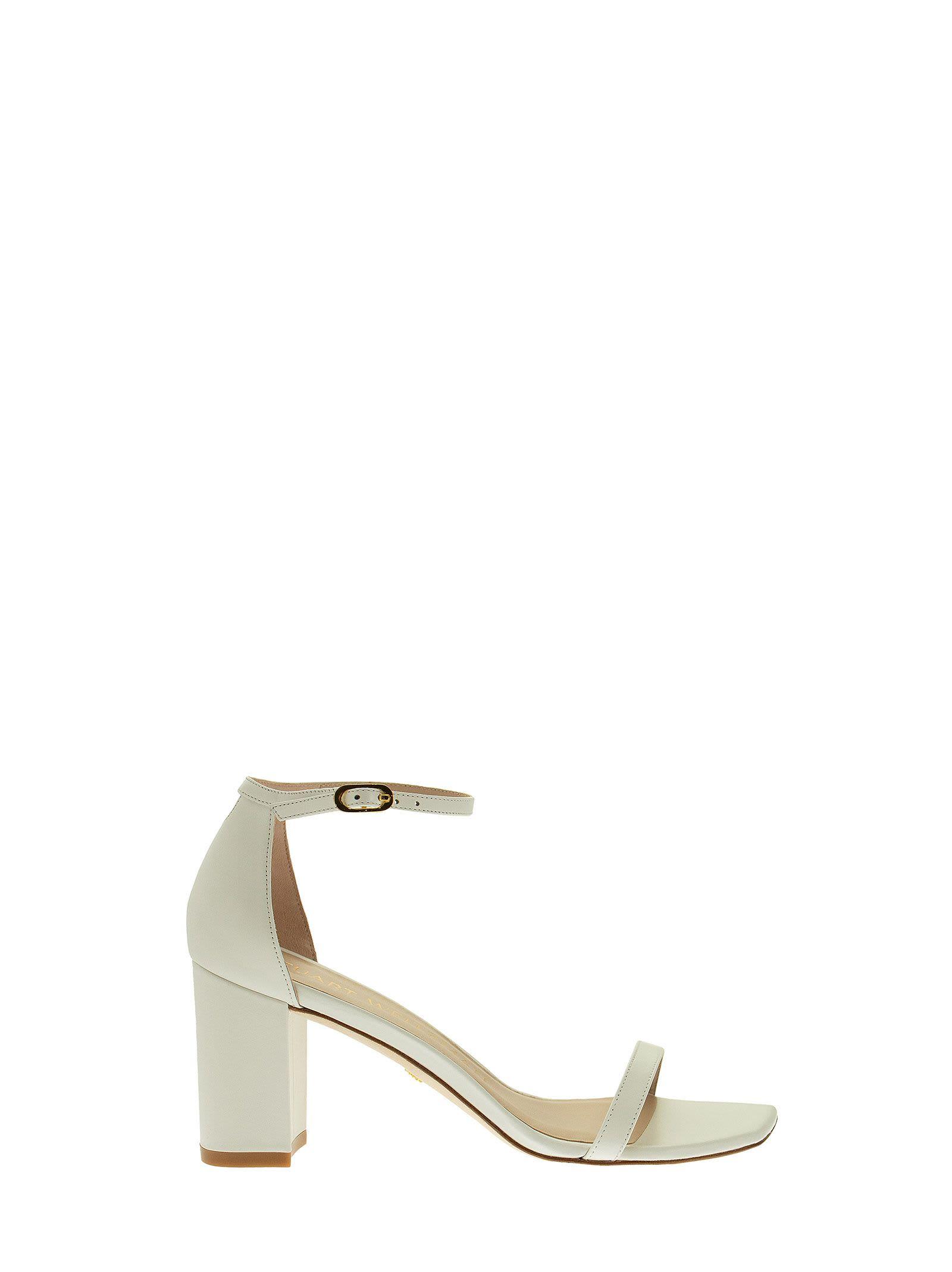 Buy Stuart Weitzman Amelina Block - Heeled Sandal online, shop Stuart Weitzman shoes with free shipping