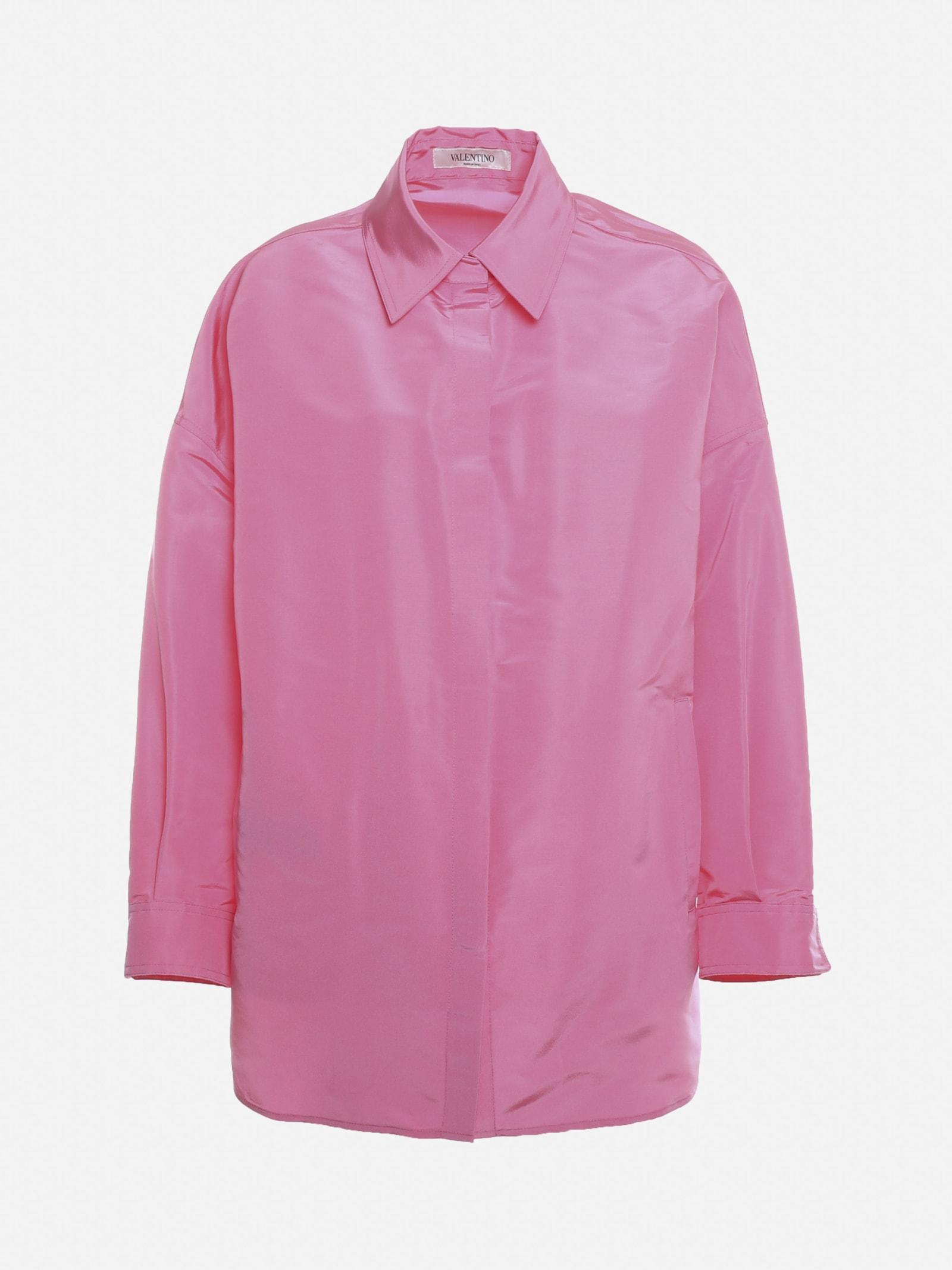 Valentino Jackets OVERSIZED SHIRT MADE OF SILK