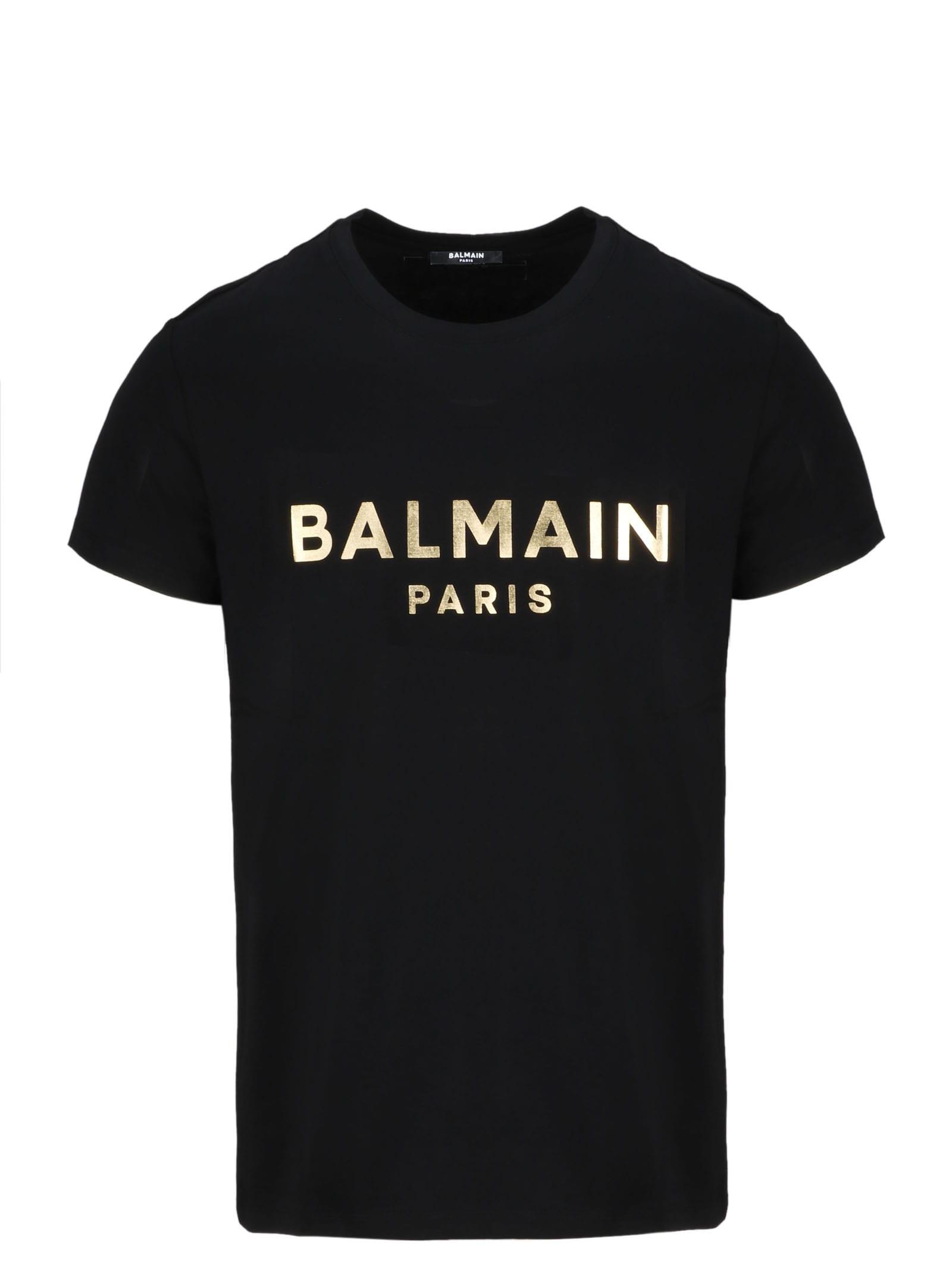Balmain GOLD FOIL T-SHIRT