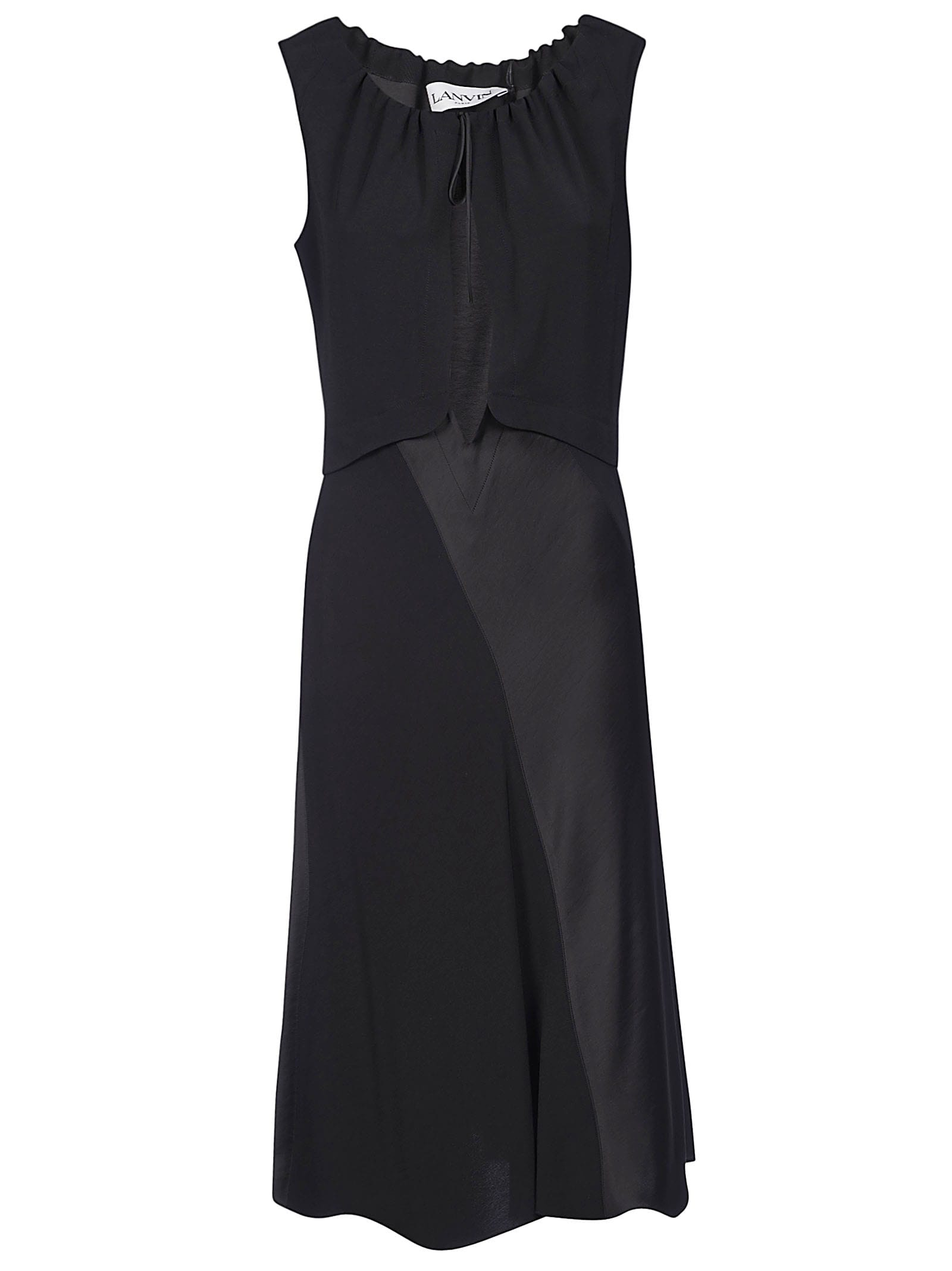 Buy Lanvin Cut-out Detailing Dress online, shop Lanvin with free shipping