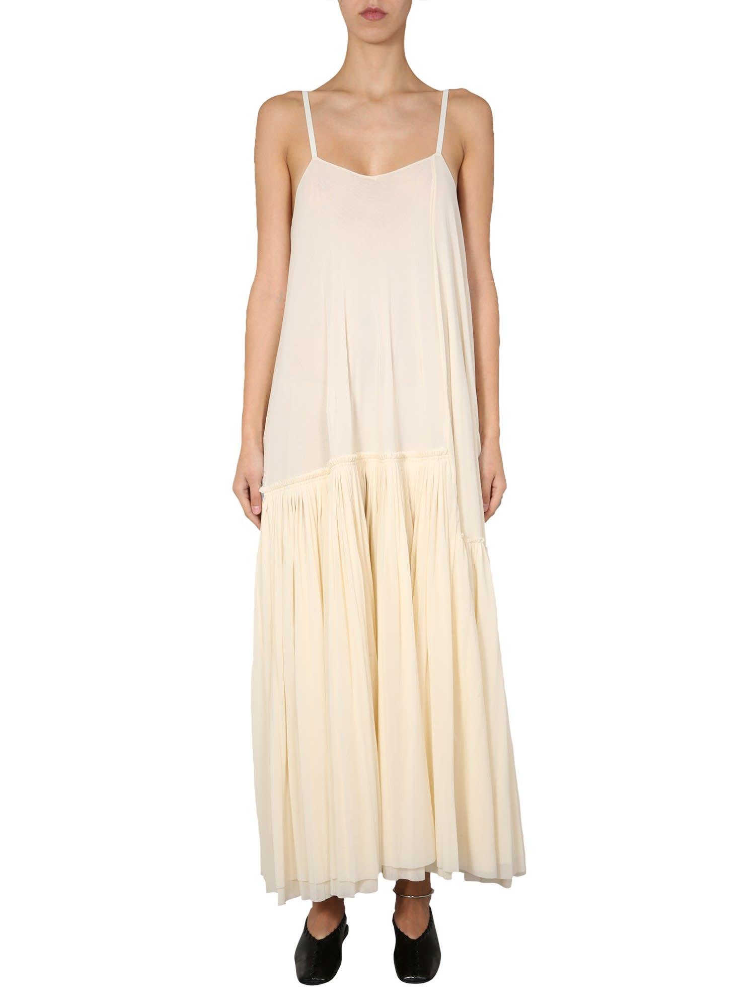 Buy Jil Sander Maxi Dress online, shop Jil Sander with free shipping
