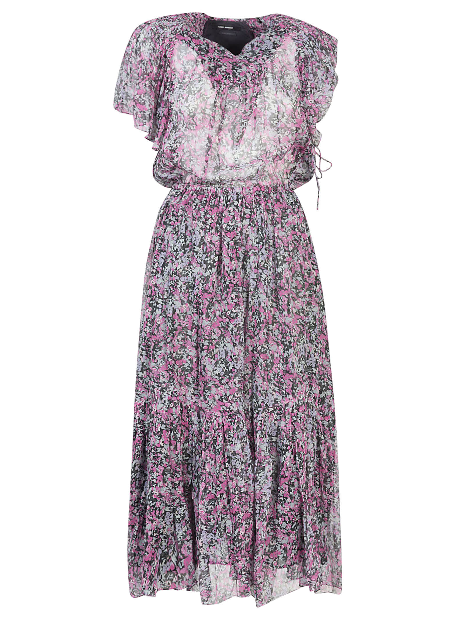Buy Isabel Marant High Waist Printed Maxi Dress online, shop Isabel Marant with free shipping