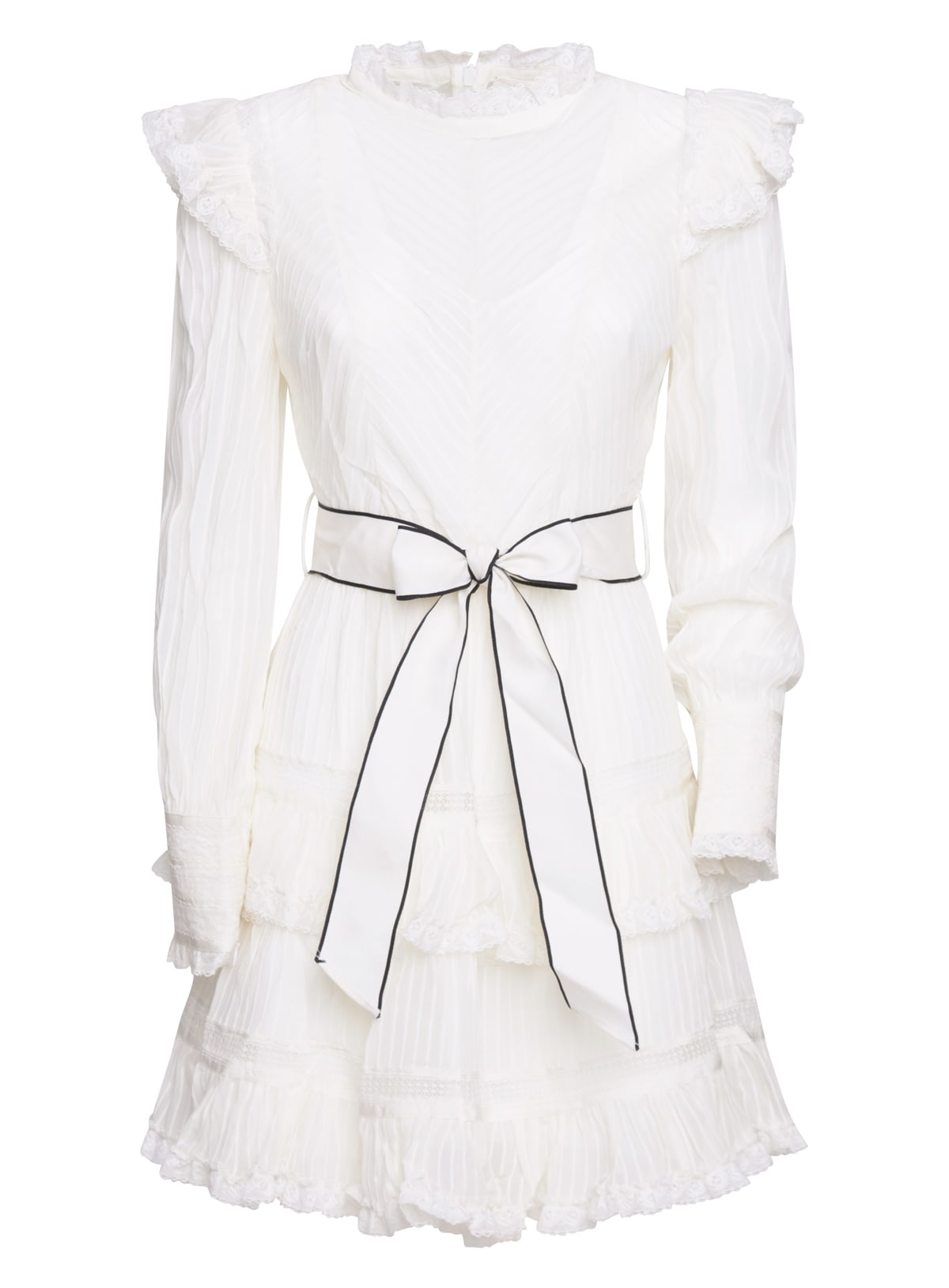 Buy Zimmermann Pintuck Dress online, shop Zimmermann with free shipping