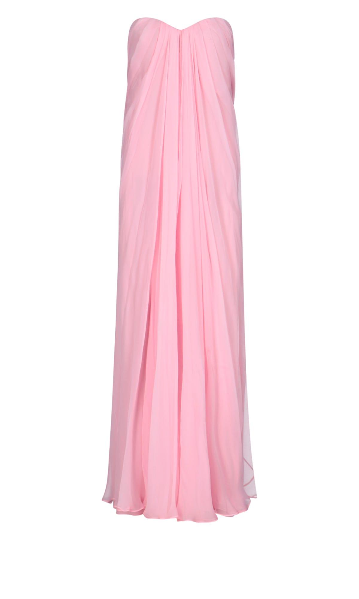 Alexander Mcqueen Dress In Pink