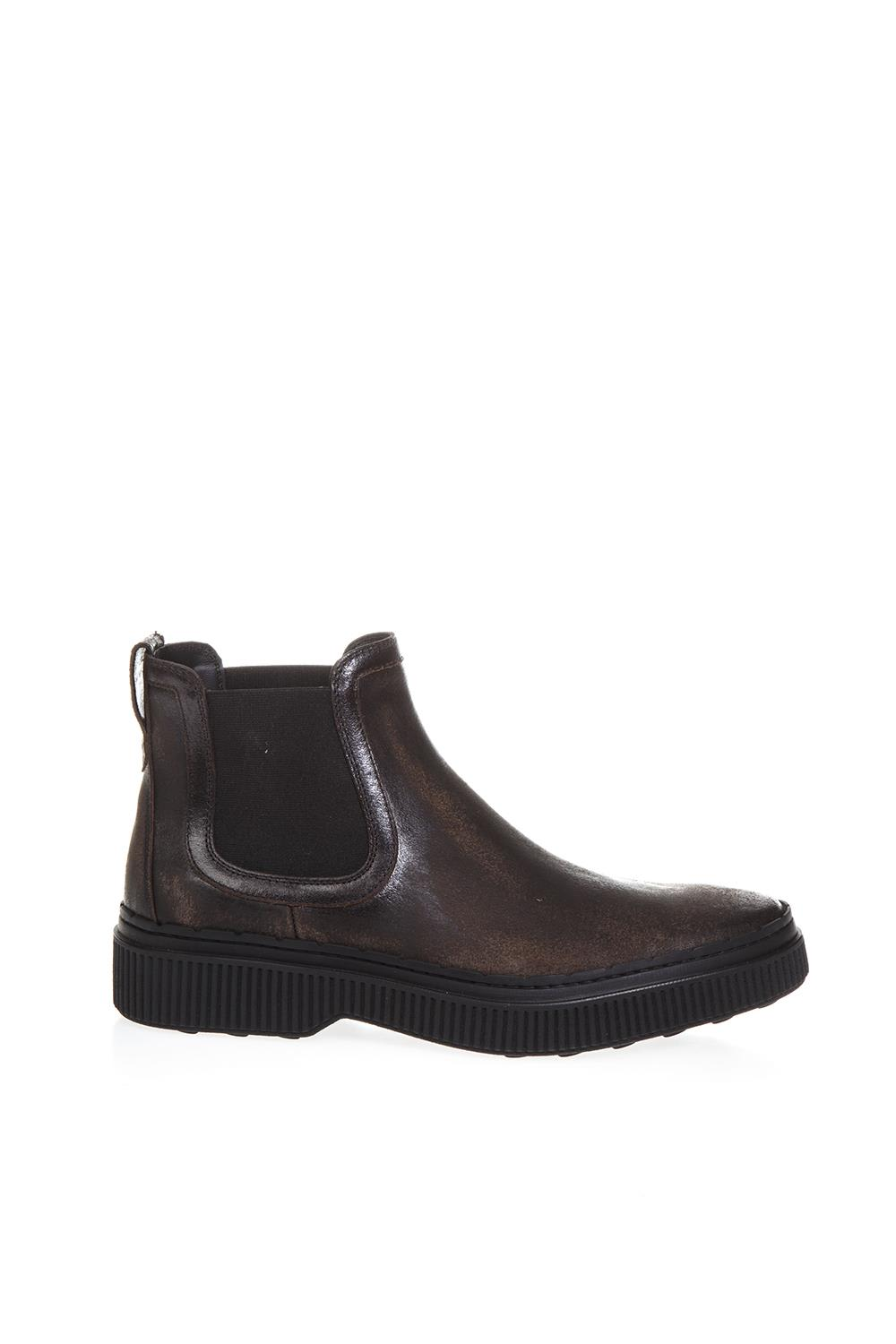 Tods Brown Leather Boots