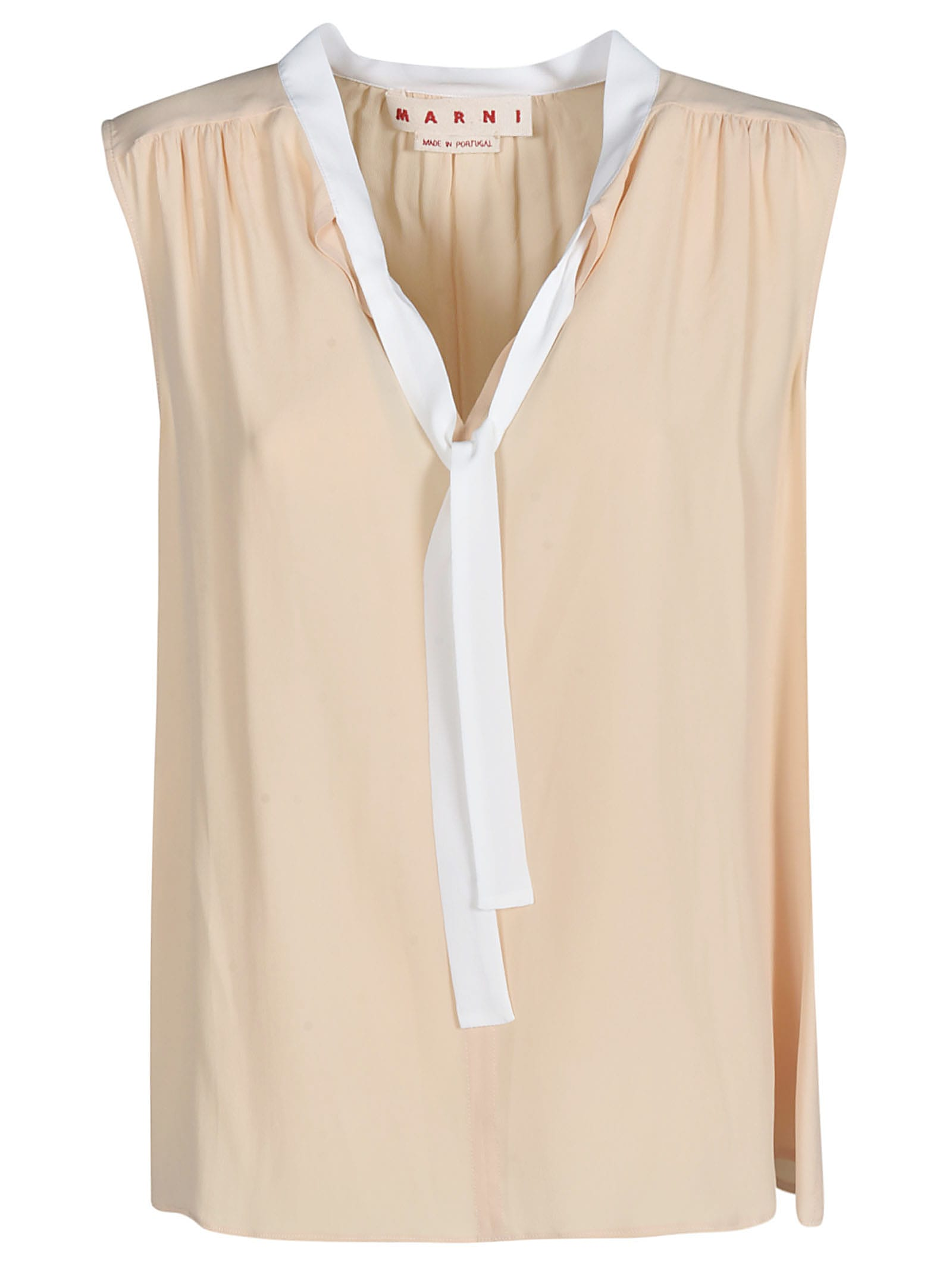 Sleeveless V-neck Top from Marni