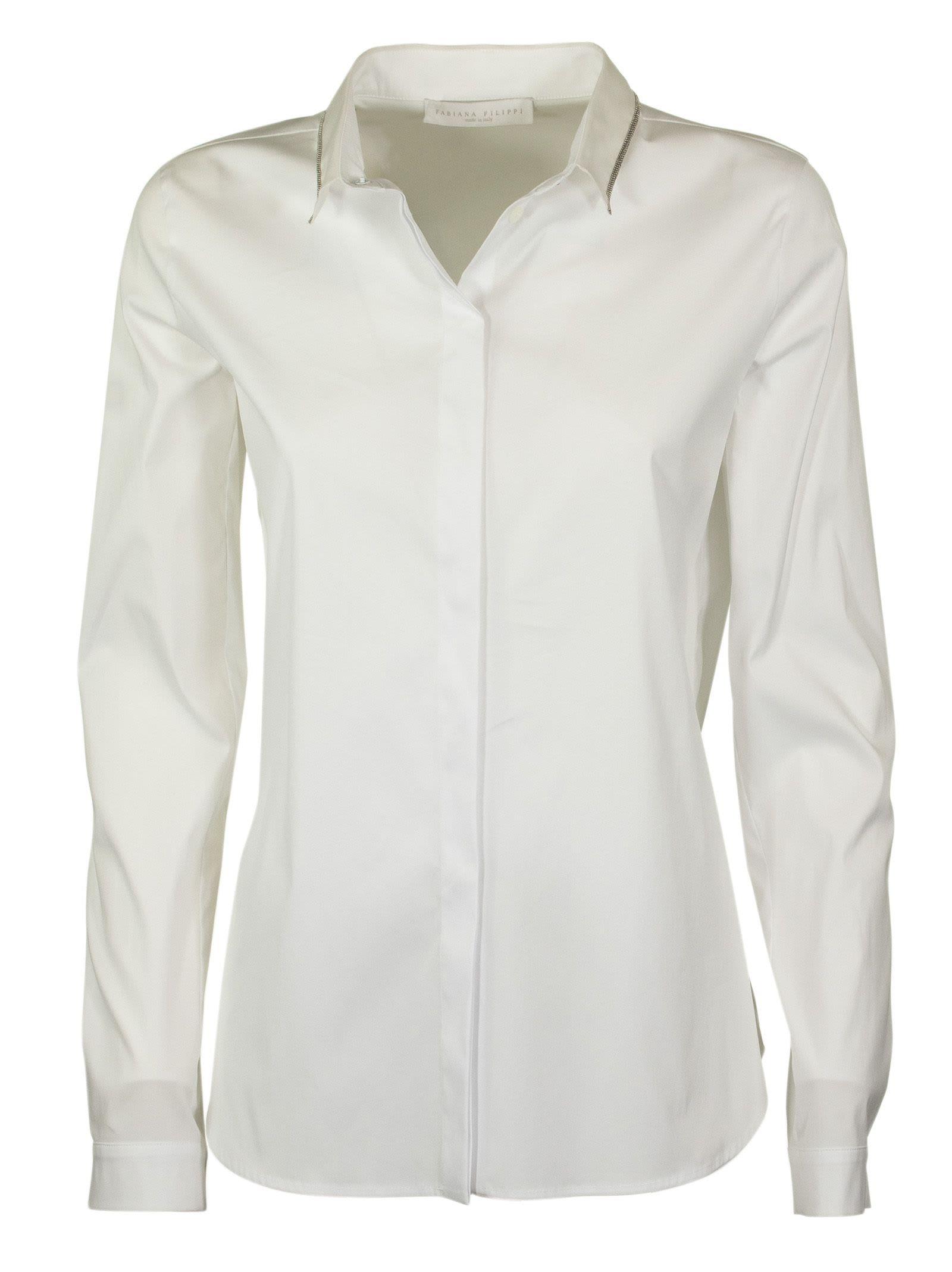 Fabiana Filippi Long-sleeve Fitted Shirt