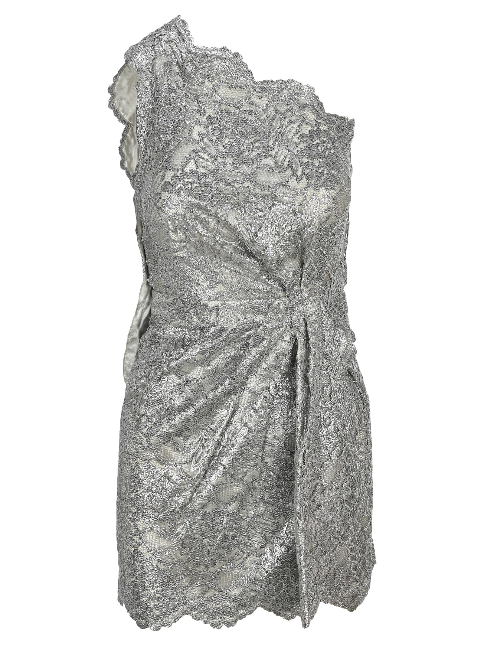 Buy D Squared Metallic Lace Morgana Dress online, shop Dsquared2 with free shipping