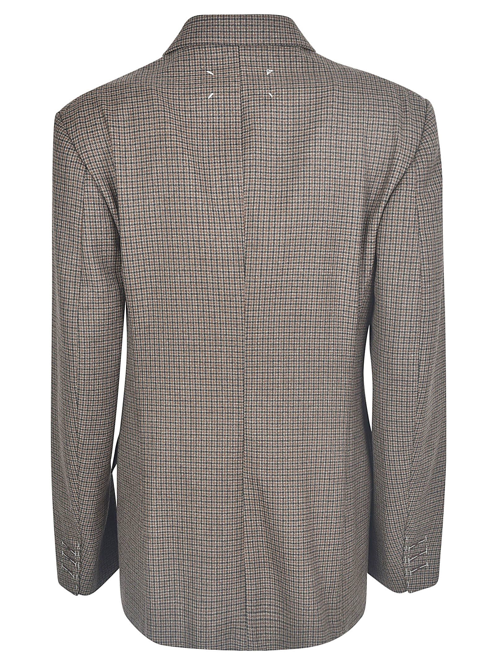 Particular Maison Margiela Double-breasted Check Blazer