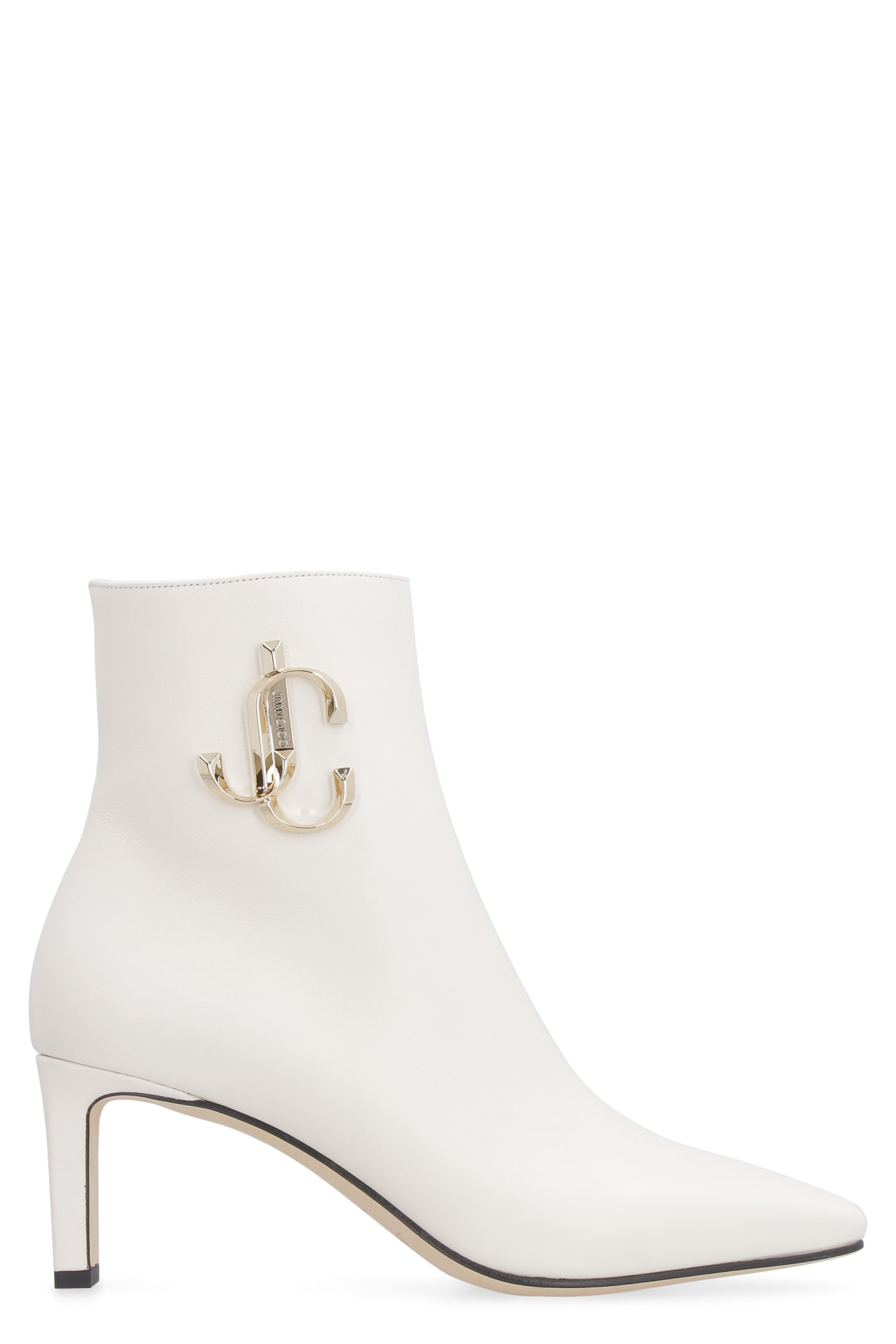 Jimmy Choo Minori Leather Ankle Boots
