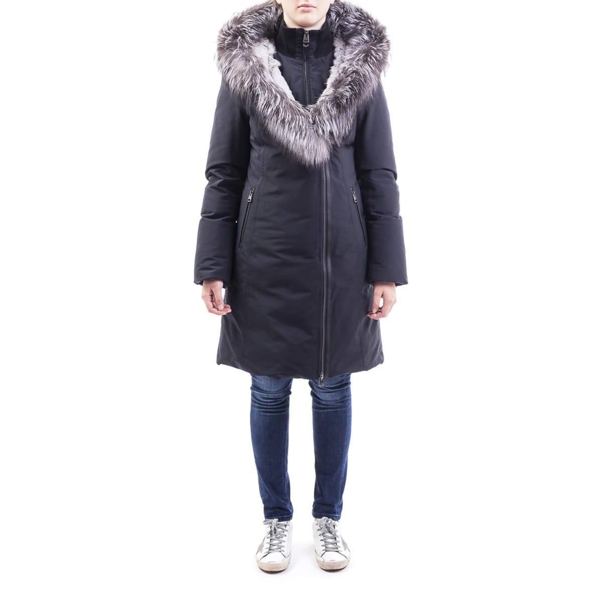 Mackage Blacksilver Parka