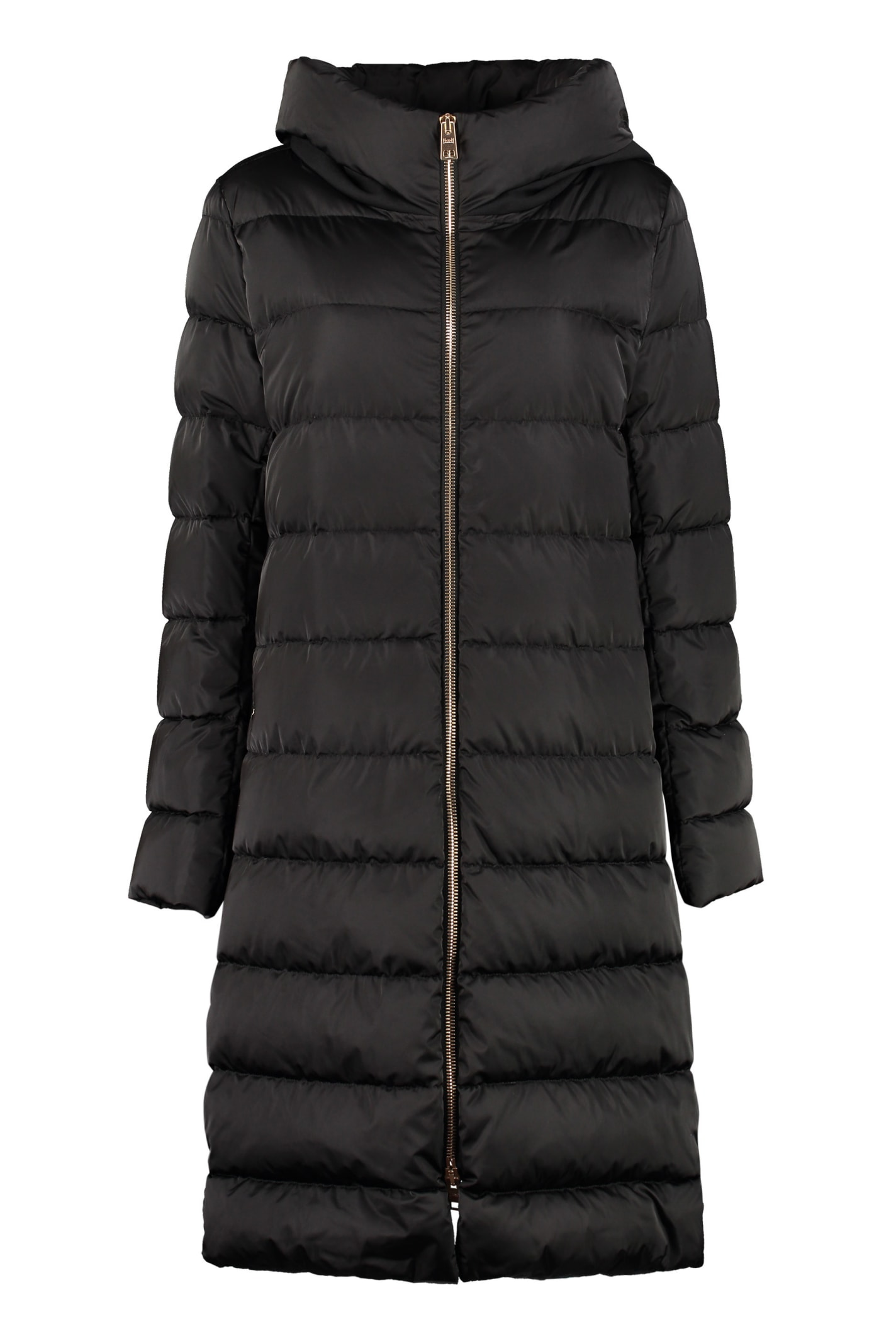 Herno Long Hooded Down Jacket