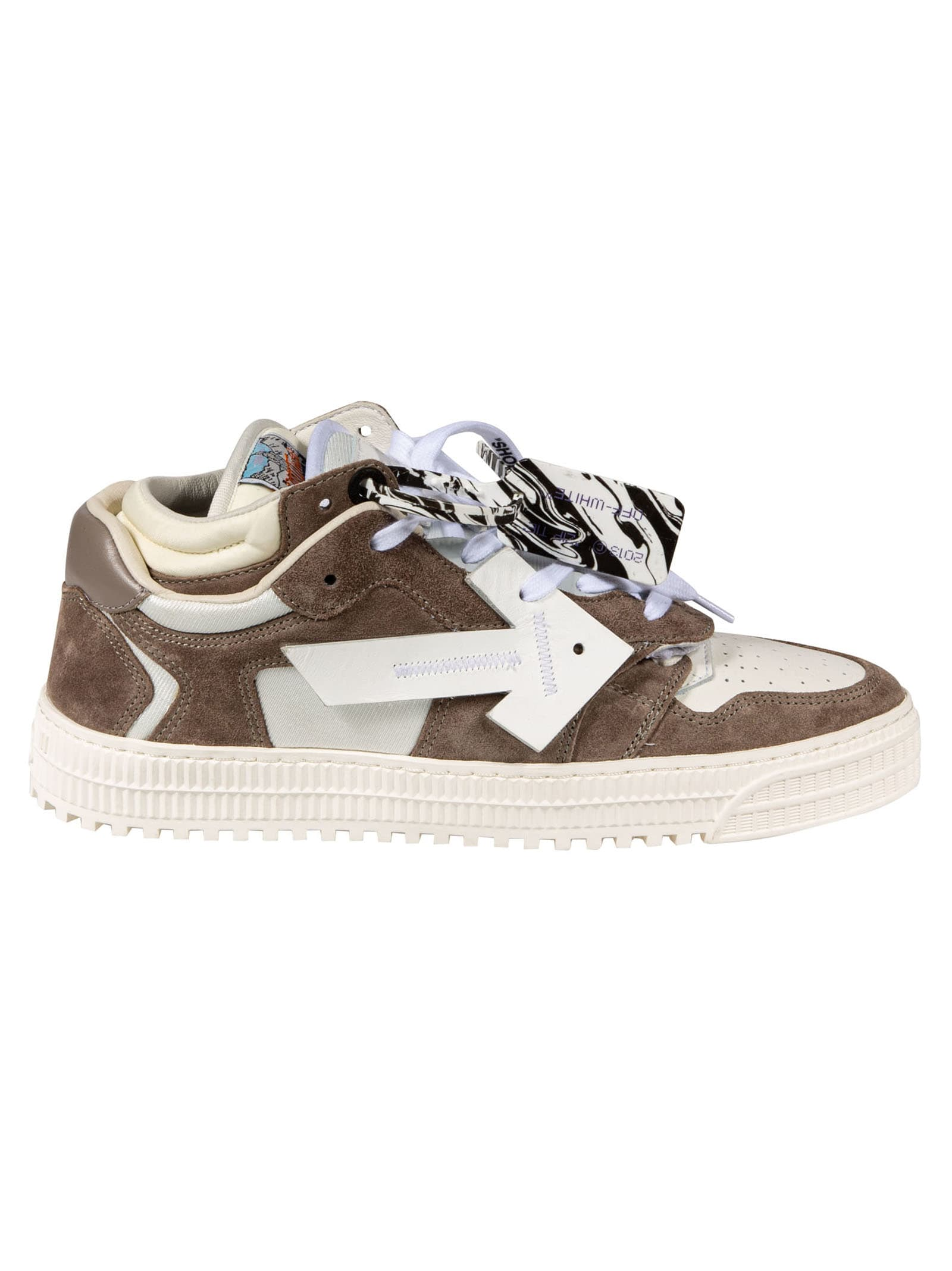 Off-White 3.0 OFF COURT LOW COW SUED SNEAKERS