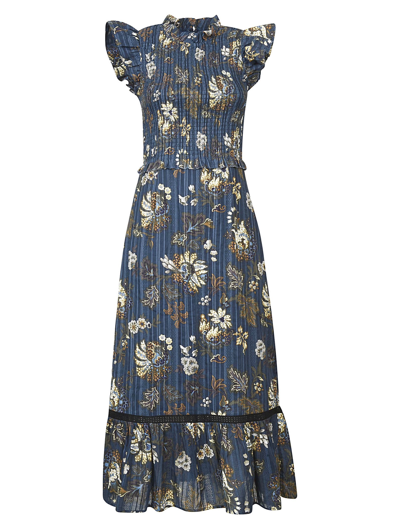 Buy Sea Pascale Midi Dress online, shop Sea with free shipping