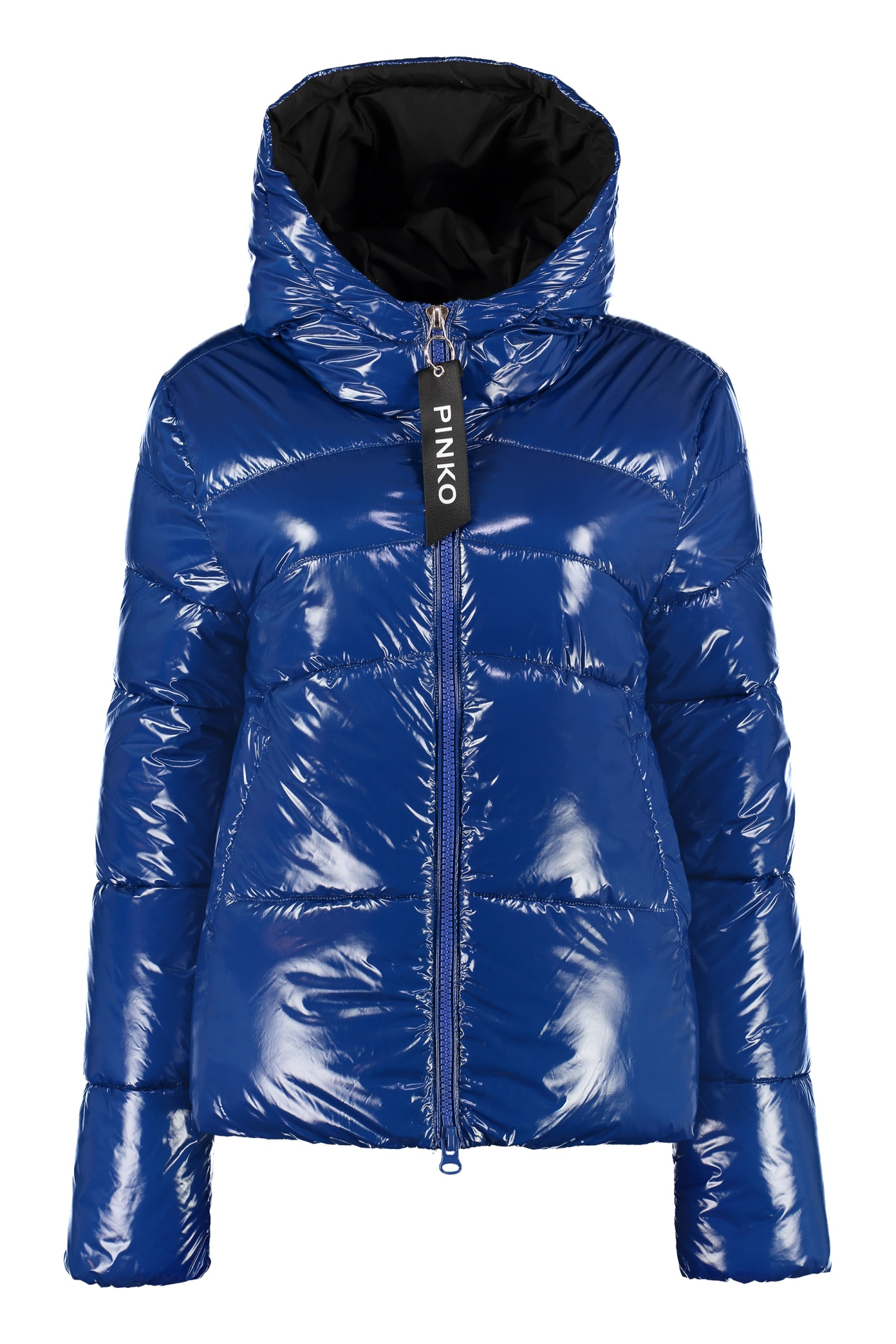 Photo of  Pinko Tradurre Hooded Padded Jacket- shop Pinko jackets online sales