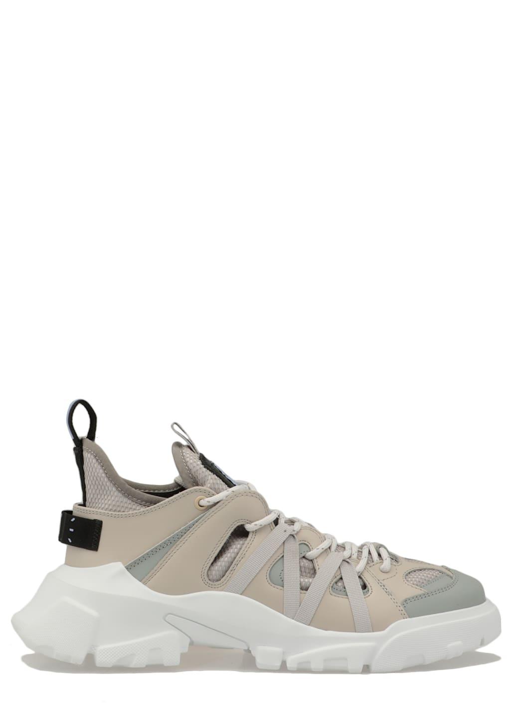 Leather Bicolor Sneaker