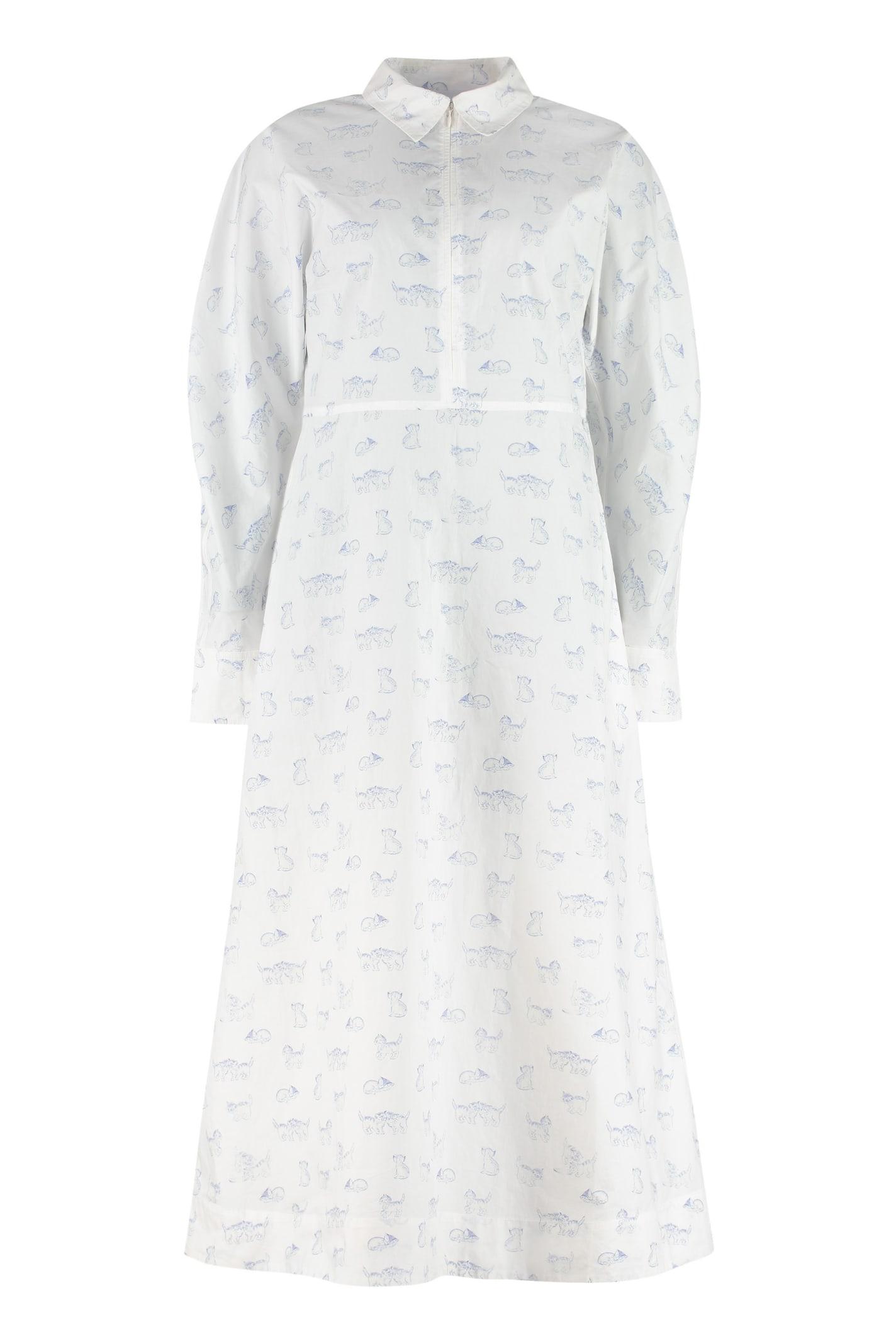 Ganni Cotton Shirtdress