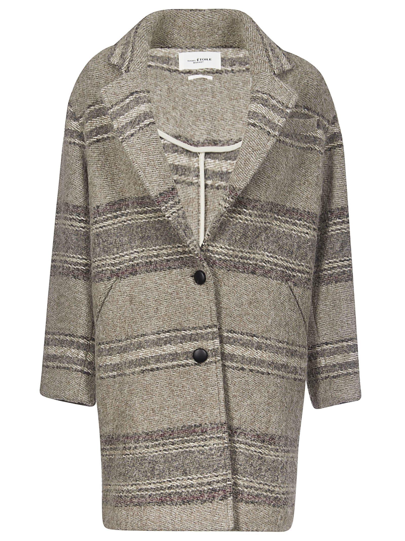 Isabel Marant Striped Coat