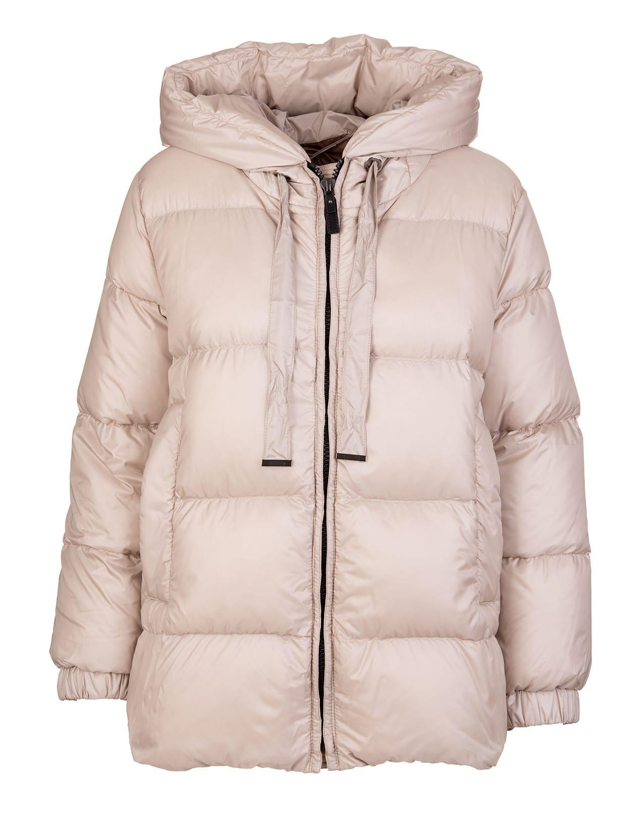 Light-colored Seia Down Jacket