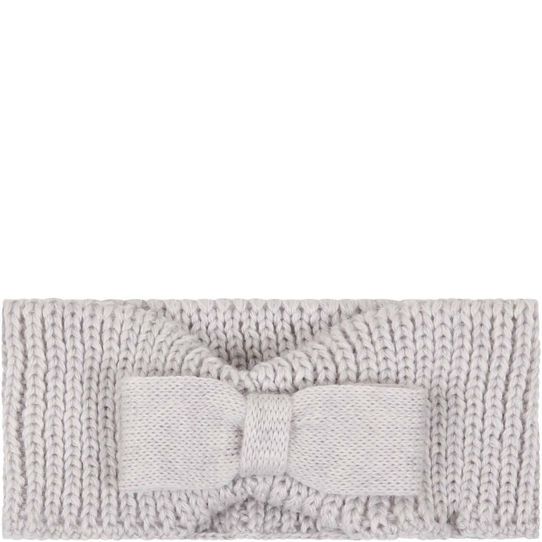 Grey Headband For Babygirl