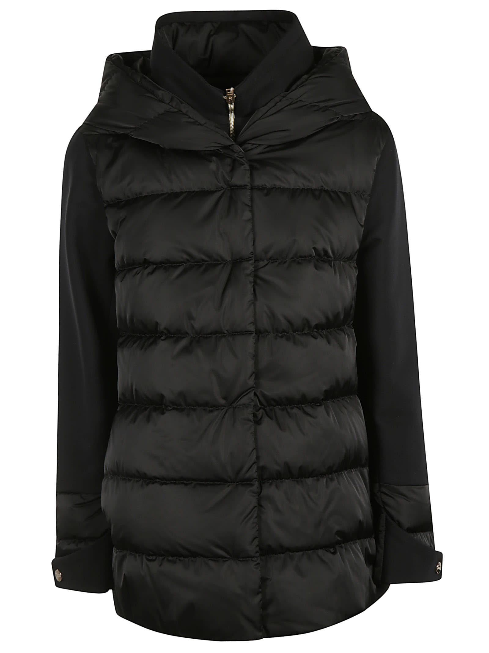 Herno Concealed Classic Hooded Reversible Padded Jacket