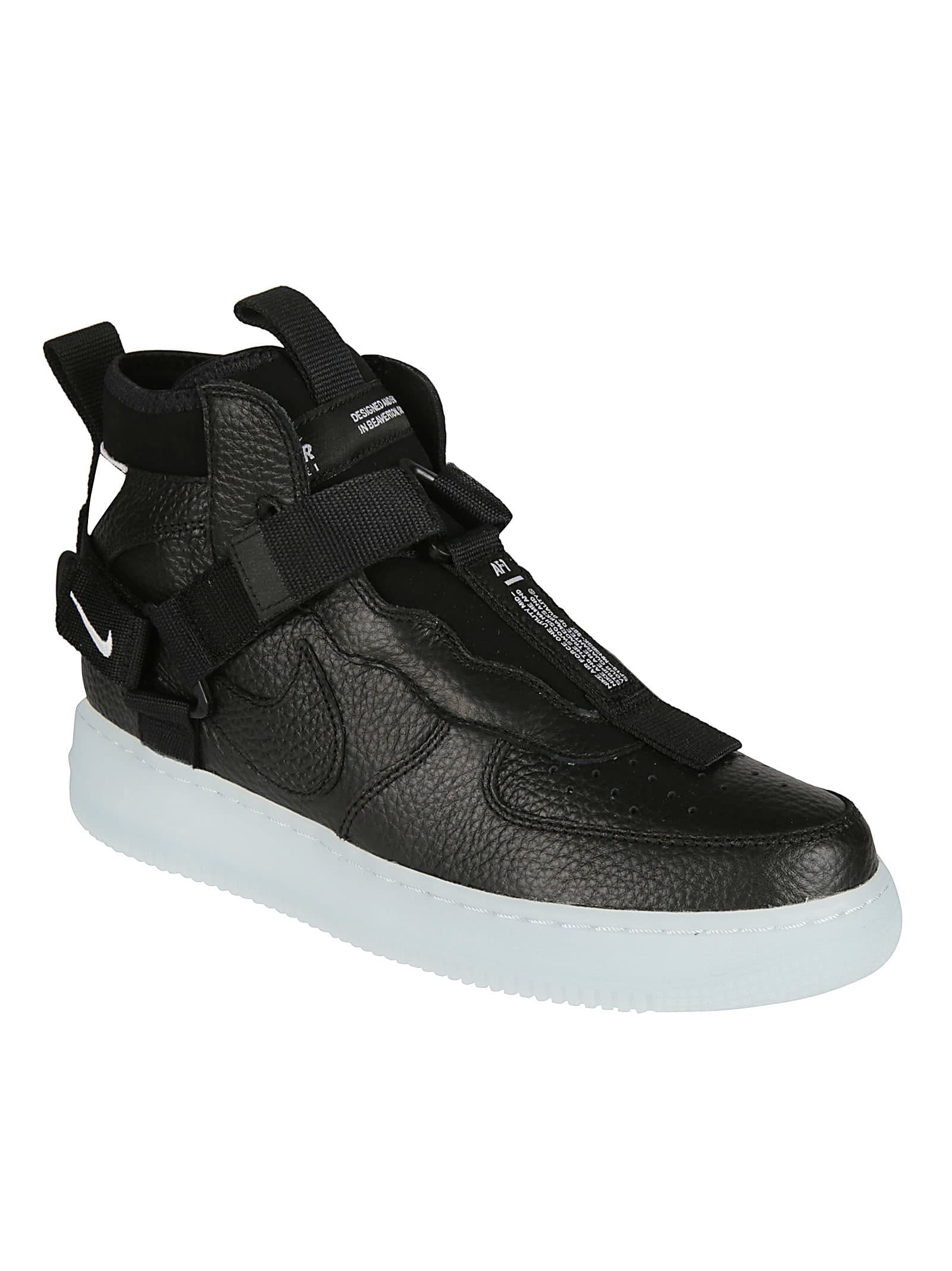 new concept d977a 62639 Best price on the market at italist | Nike Nike Air Force One Mid Utility  Sneakers