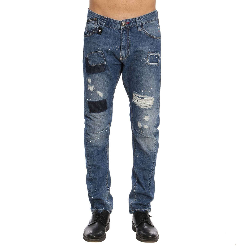 e125717ad9 Philipp Plein Jeans Jeans Men Philipp Plein