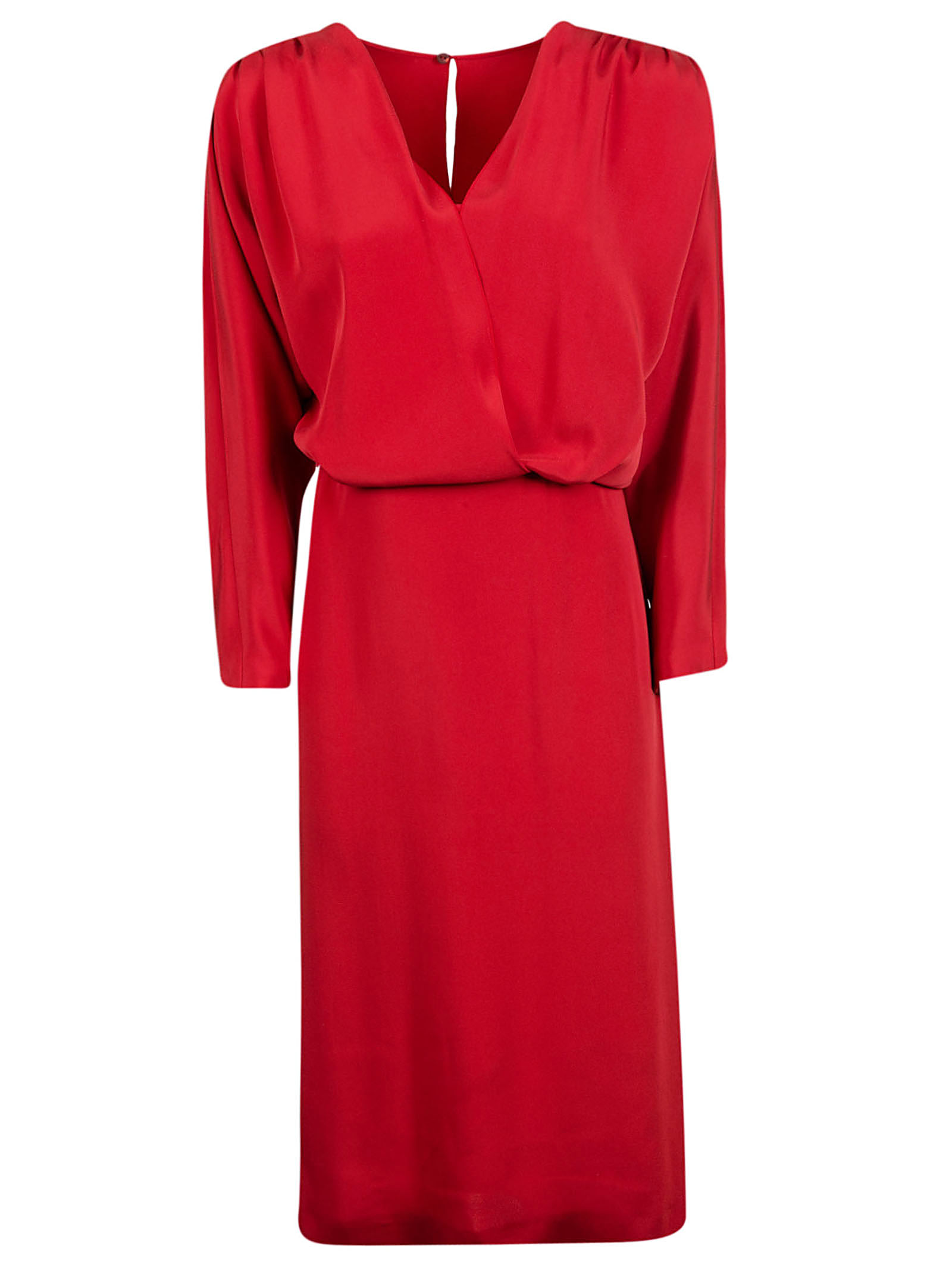 Alberta Ferretti Rear Keyhole Dress