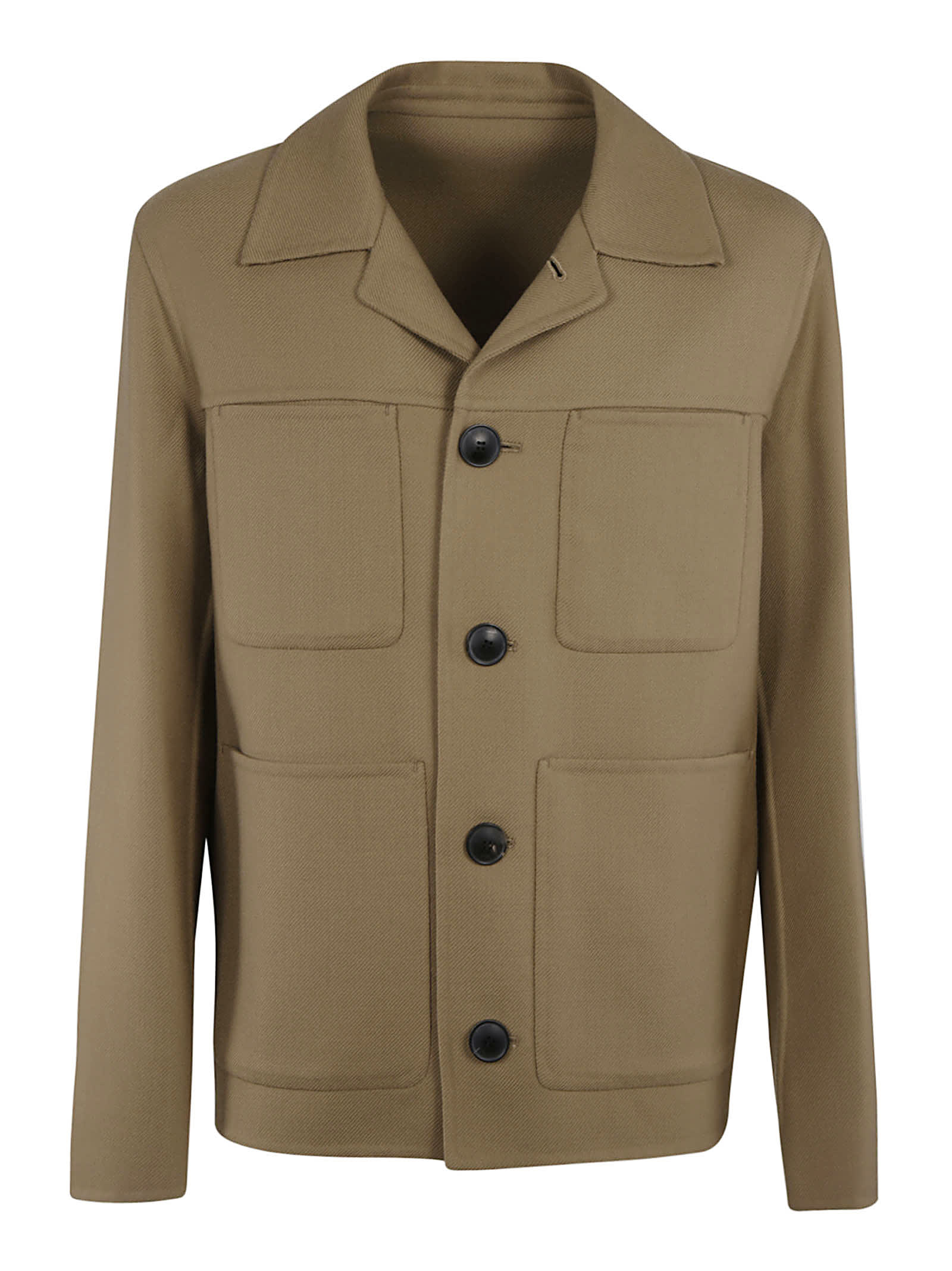 Ami Alexandre Mattiussi Multi-pocket Plain Jacket