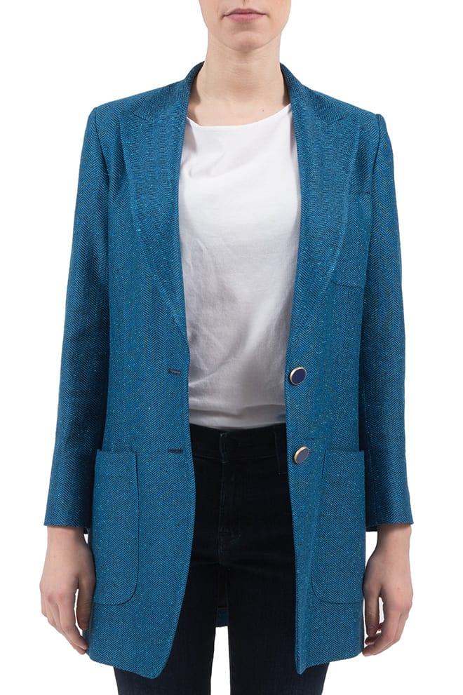 Saulina - Jacket In Azure