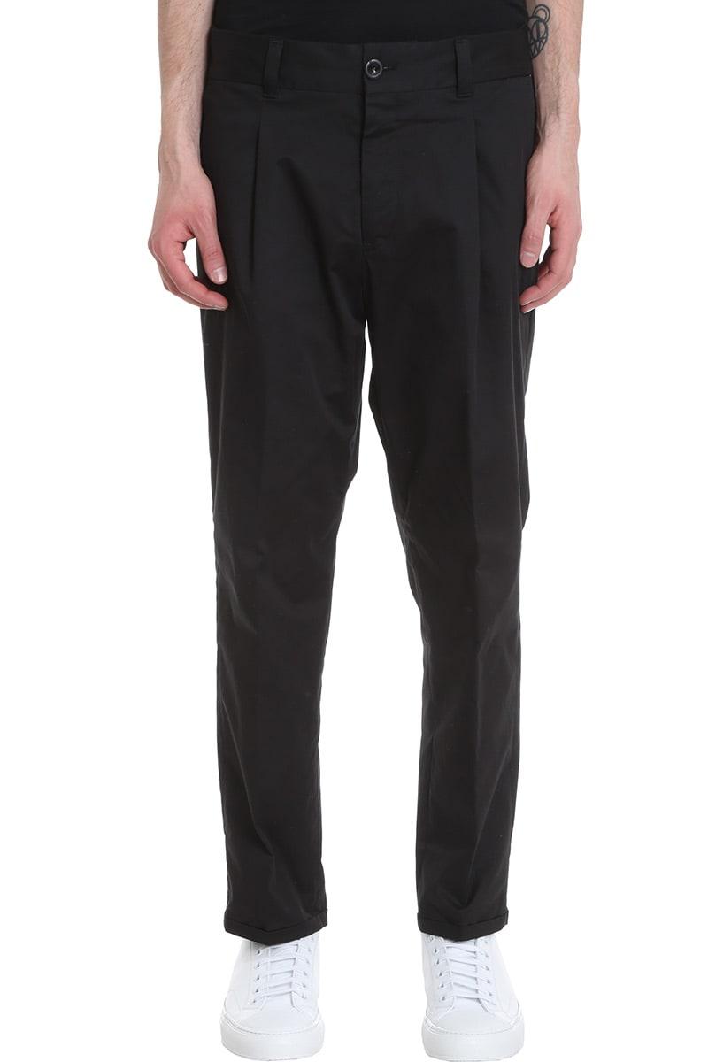 PT01 Pants In Black Cotton