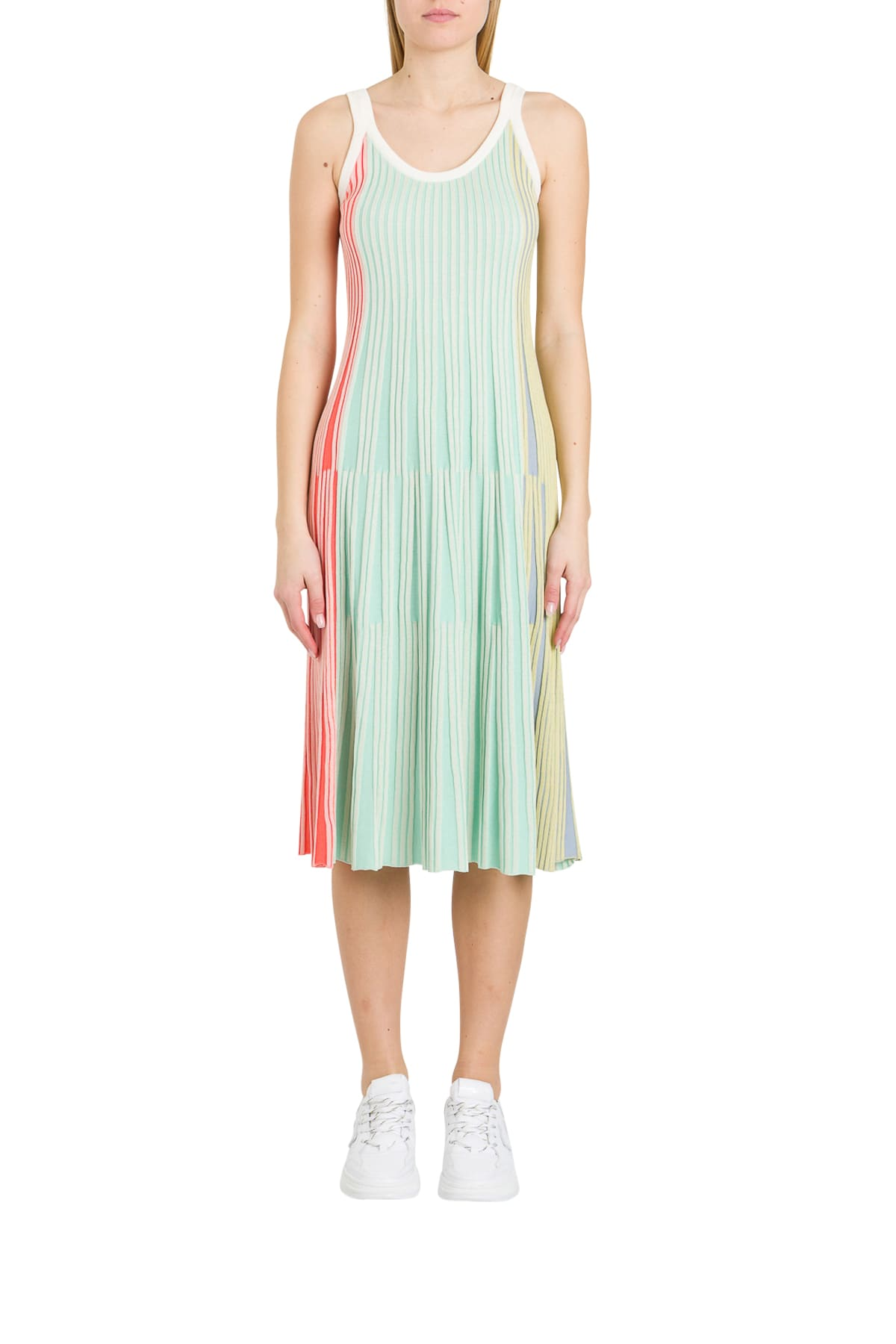 Buy Kenzo Ribbed Knit Dress online, shop Kenzo with free shipping