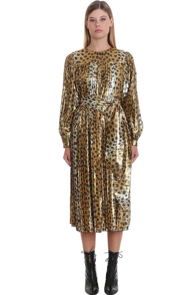 Marc Jacobs Dress In Animalier Silk