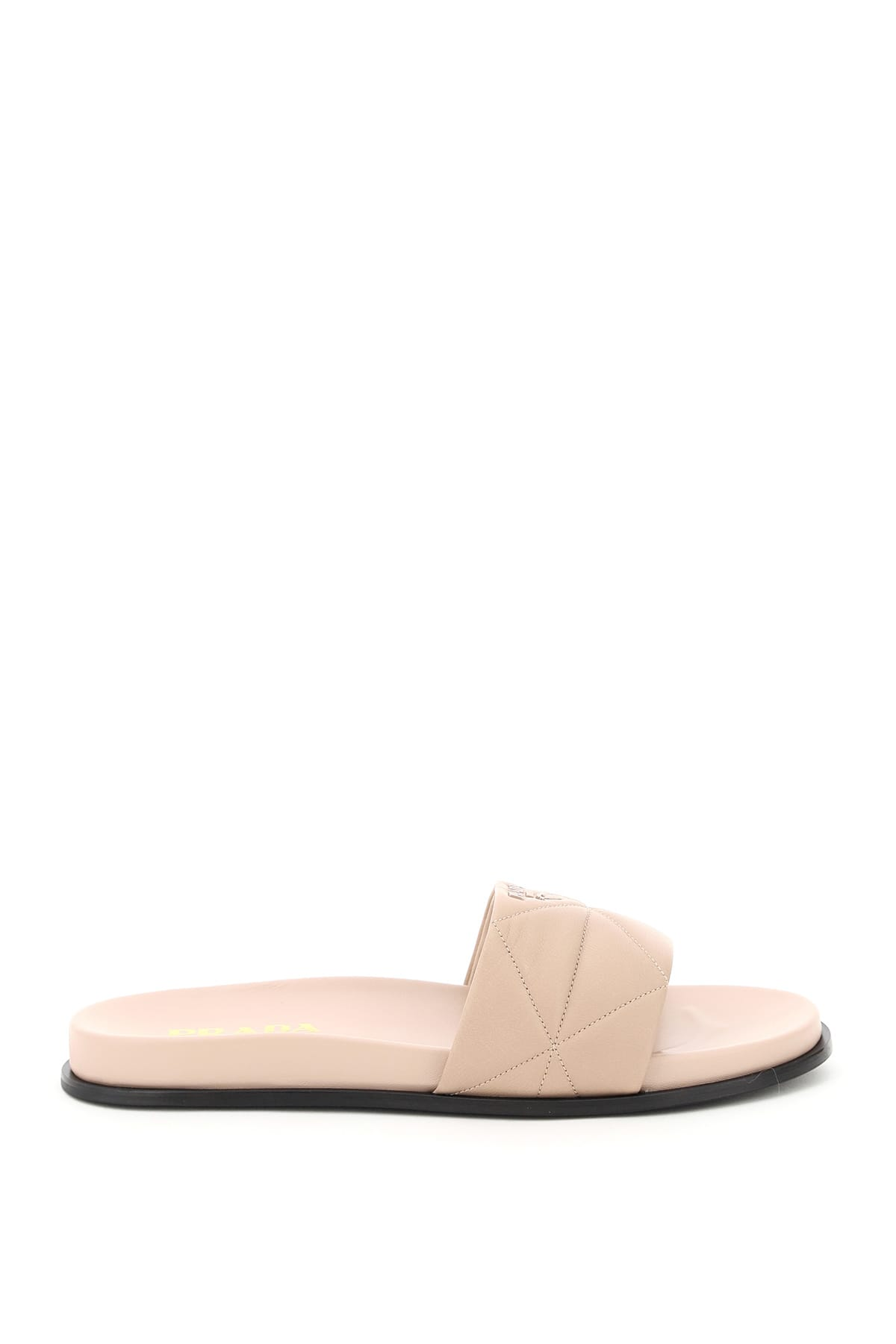 Prada Leathers MULES IN QUILTED NAPPA