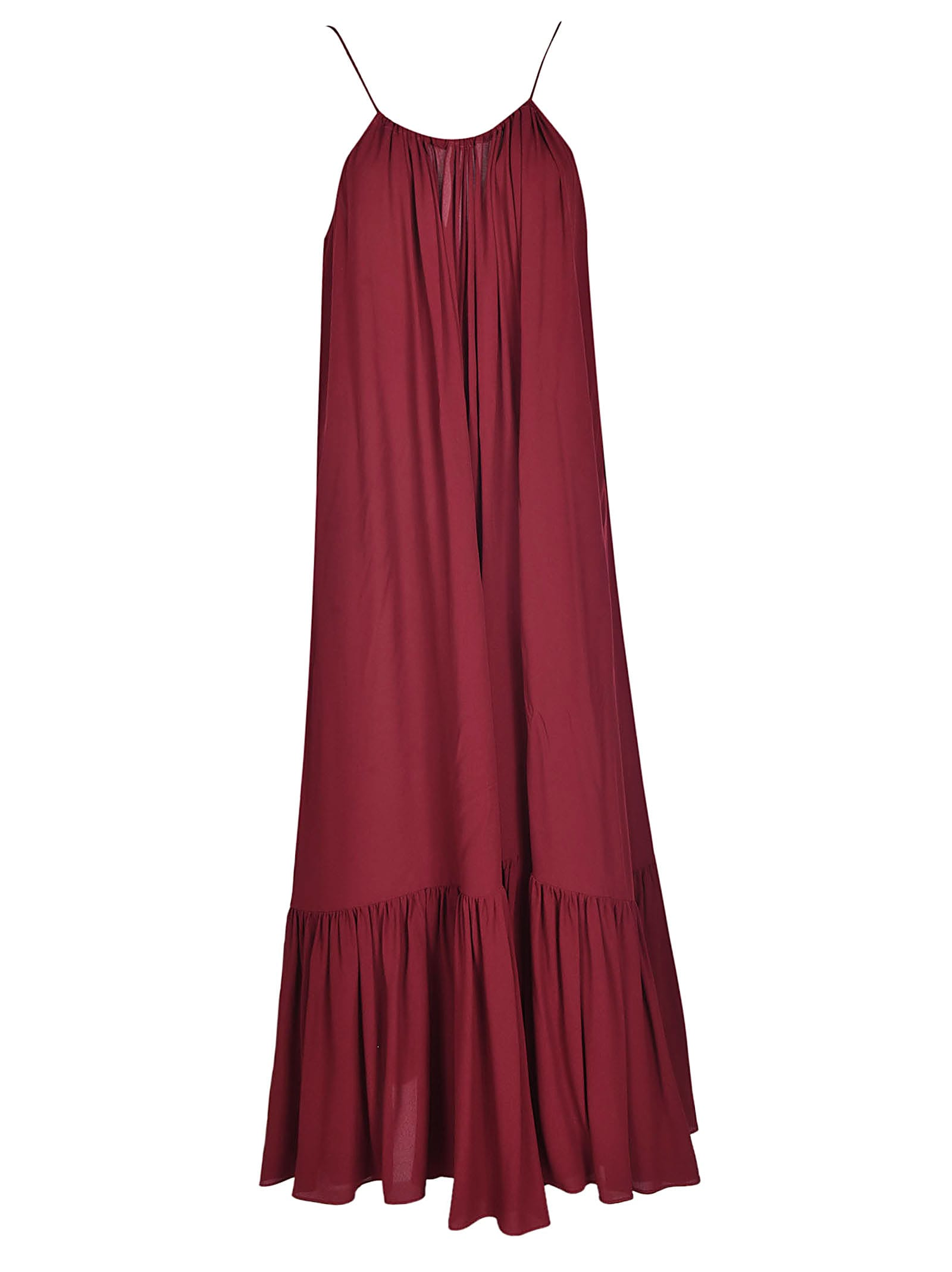 Erika Cavallini Pleated Maxi Dress