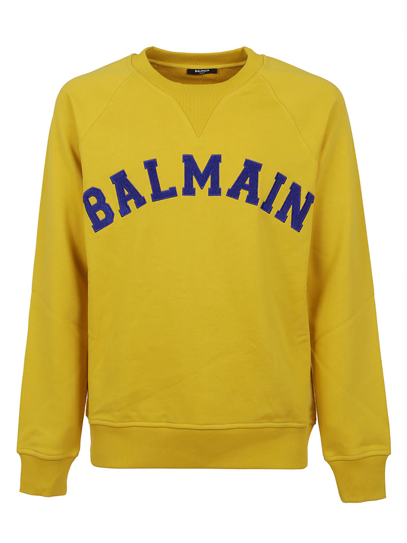 Balmain College Sweatshirt