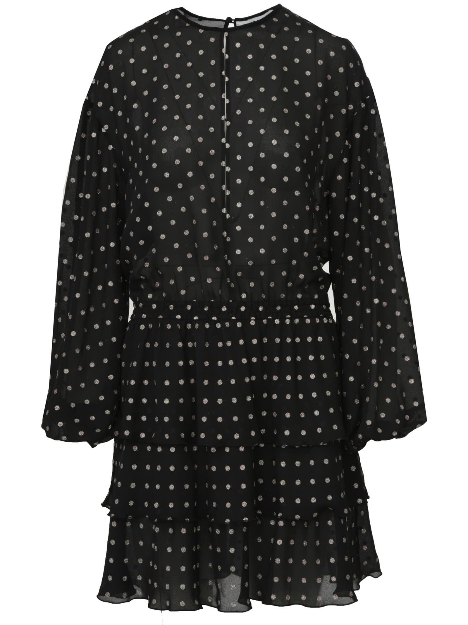 Polka-dot Dress Msgm