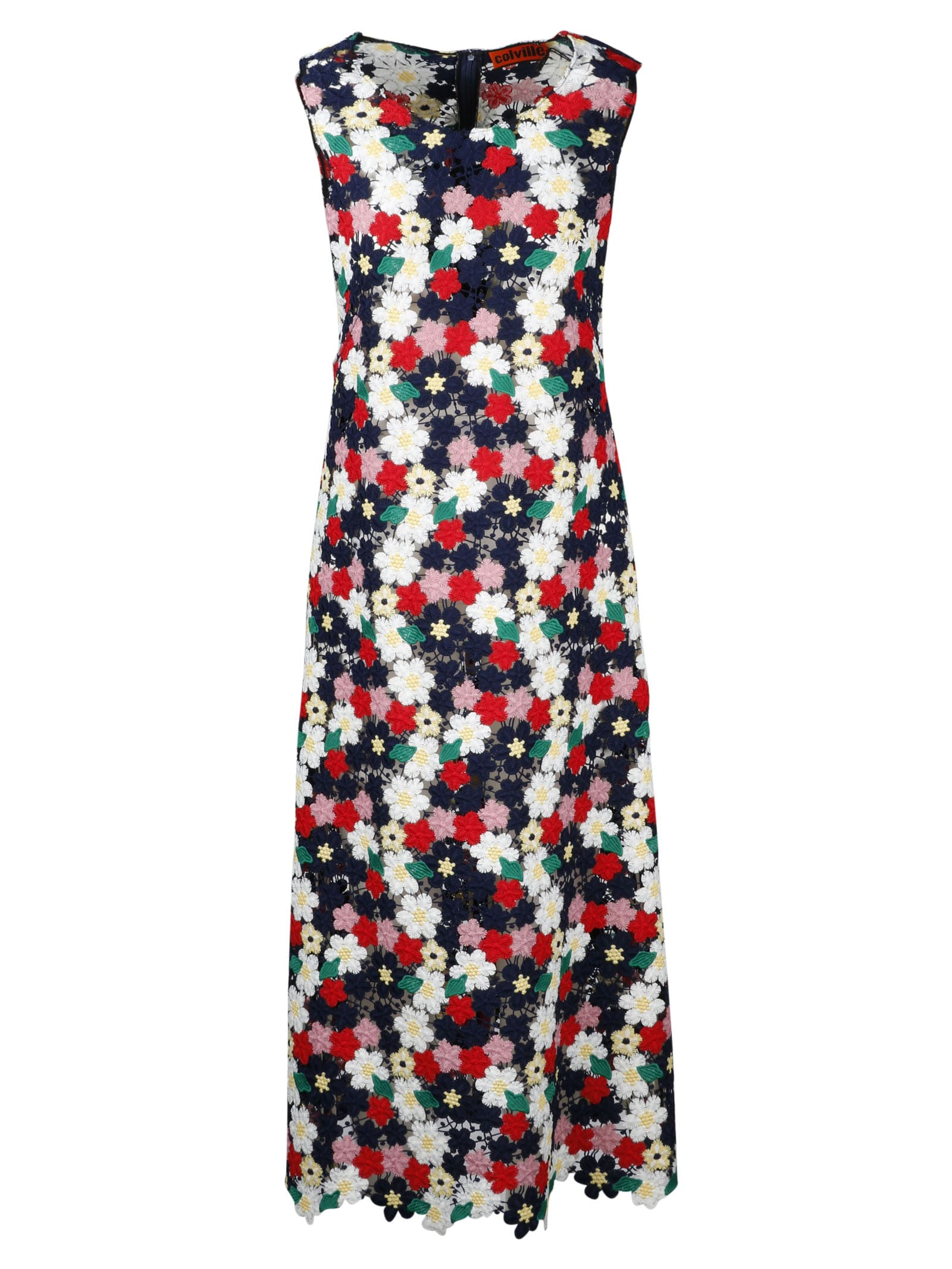 Buy Colville Floral Macrame` Dress online, shop Colville with free shipping
