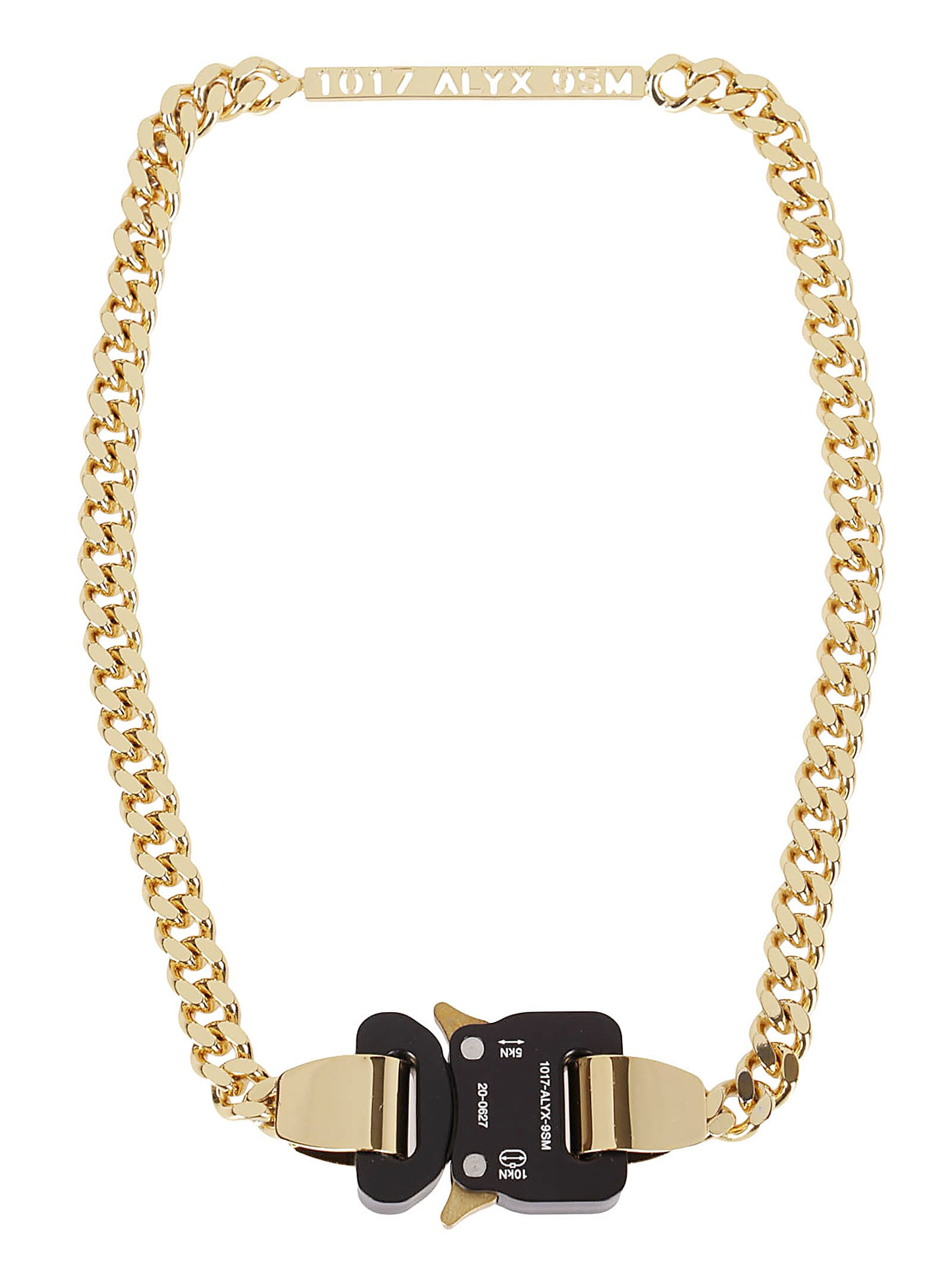 1017 ALYX 9SM Gold-tone Metal Necklace