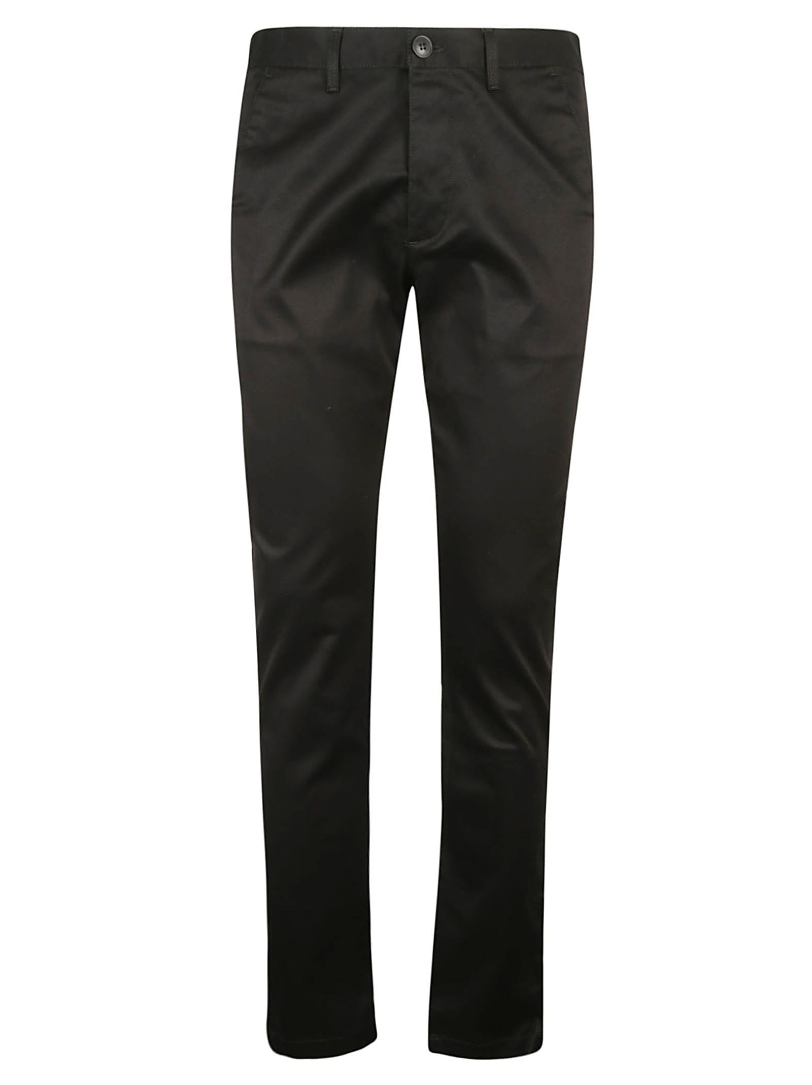 Saint Laurent Regular Fit Plain Trousers