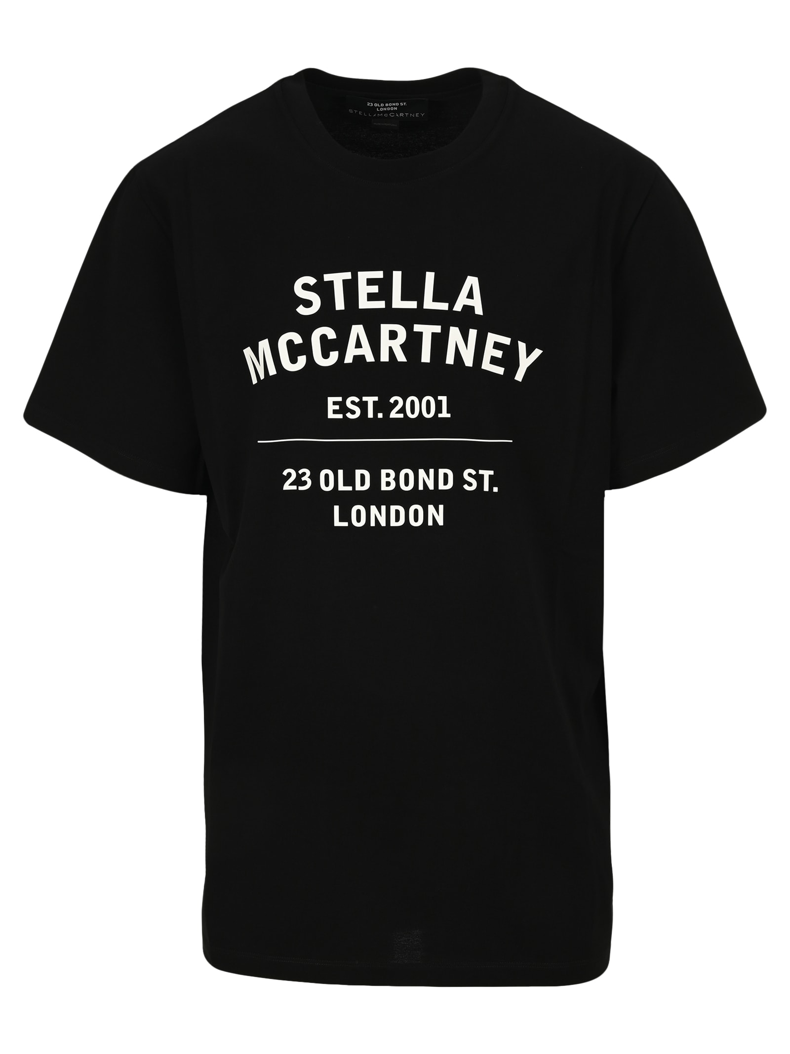 Stella Mccartney STELLA MCCARTNEY LOGO PRINT T-SHIRT