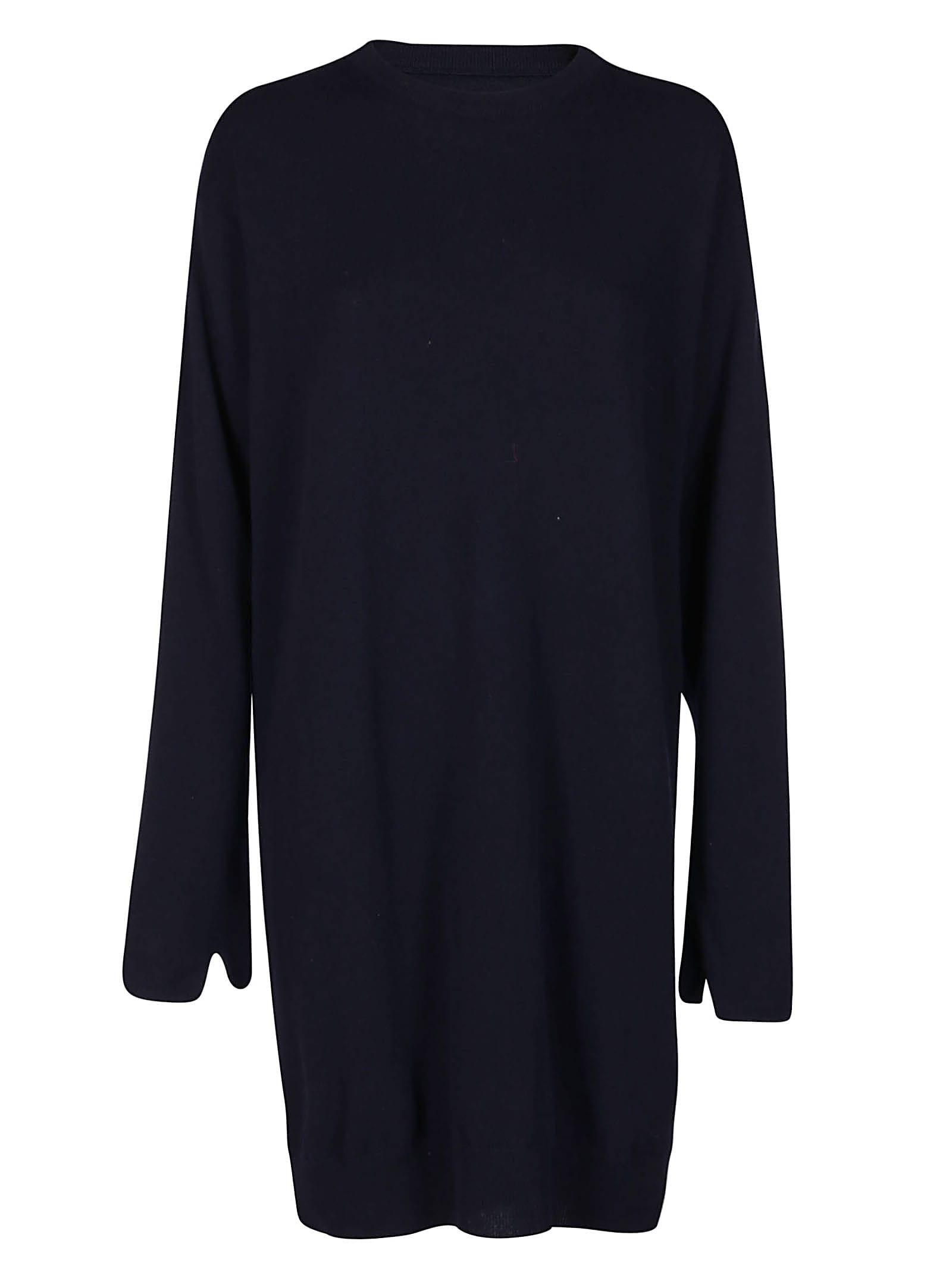 Maison Margiela Blue Cashmere-blend Dress