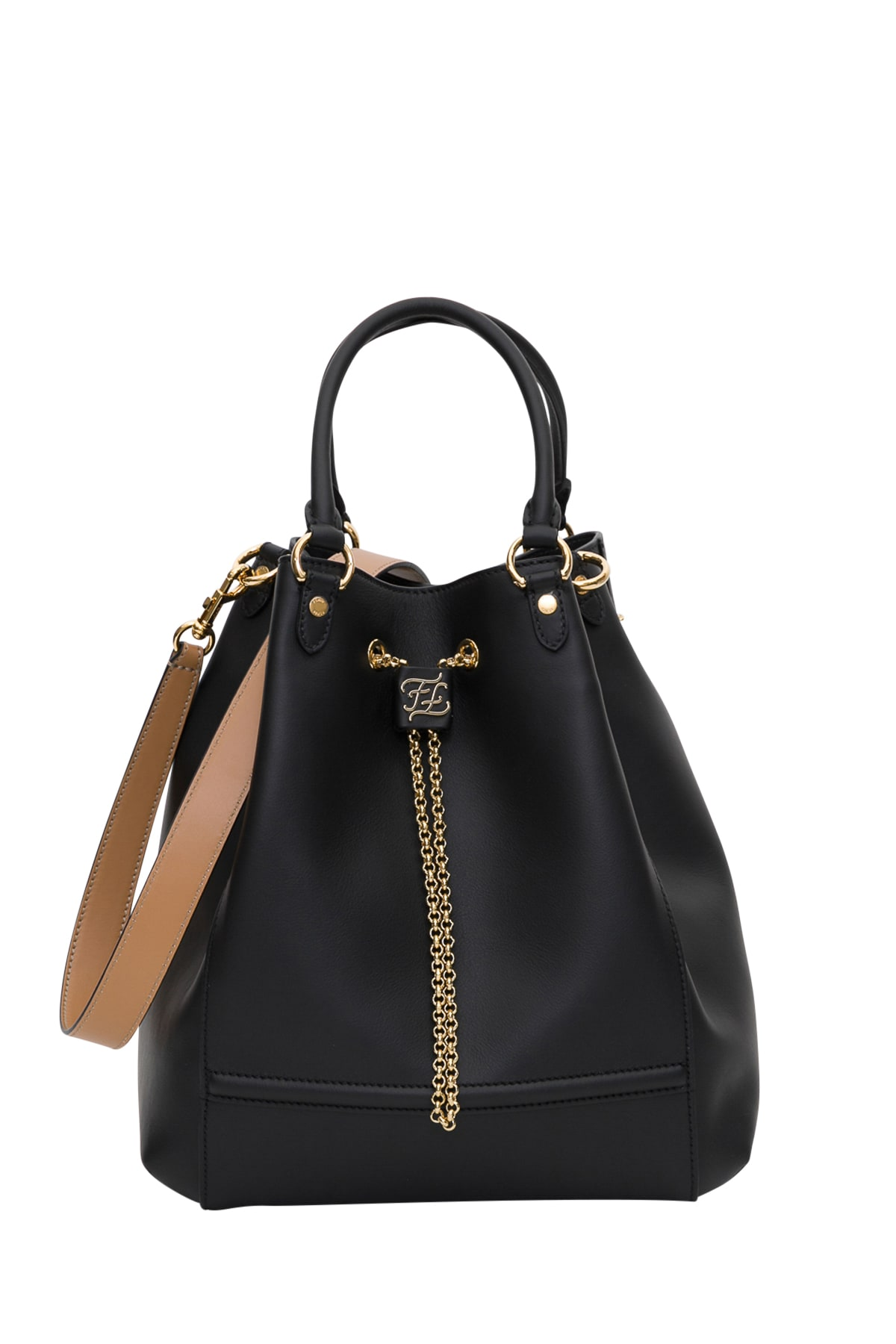 Fendi Chain Bucket Bag