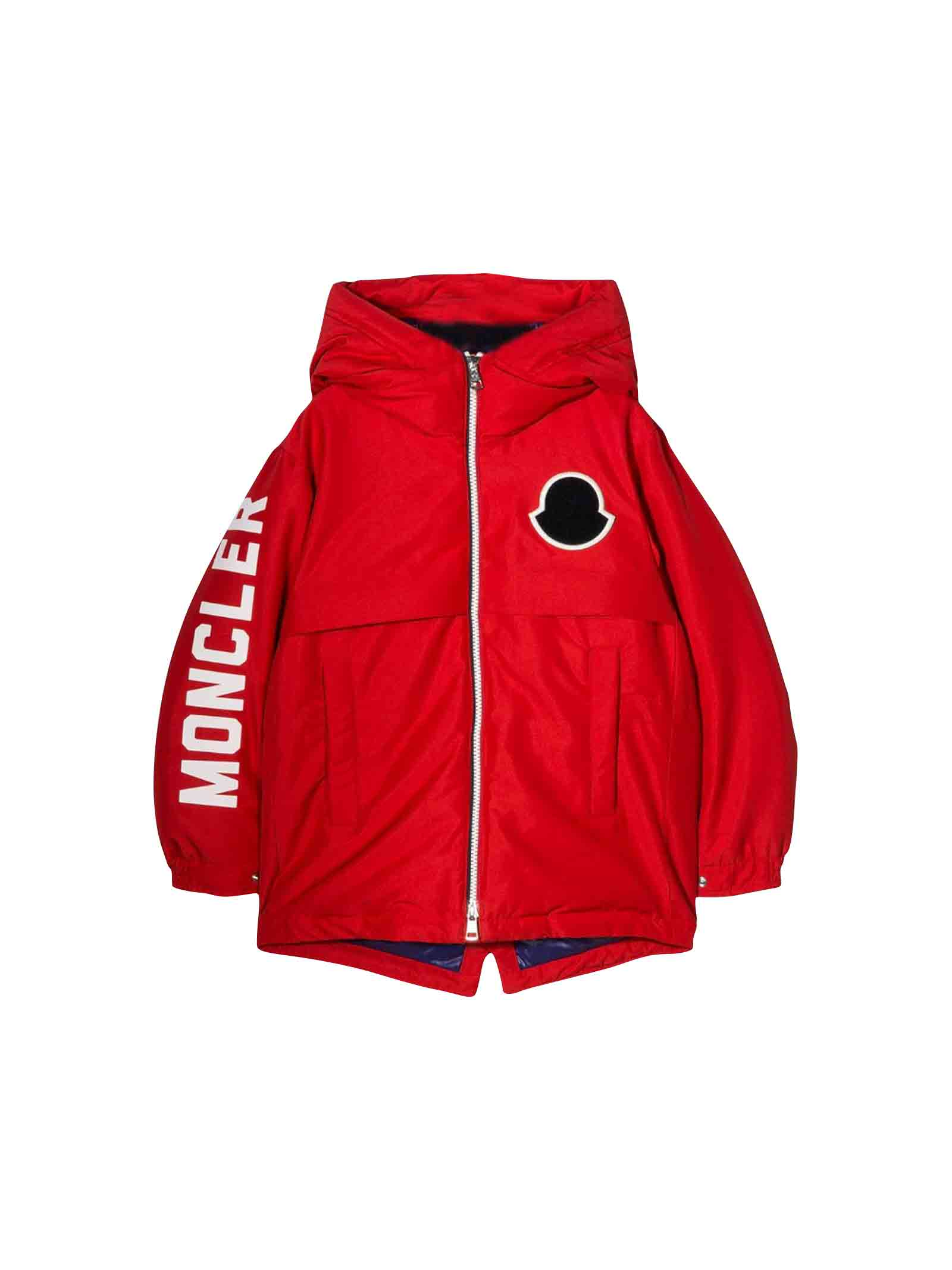 finest selection cebaf 919a4 Moncler Red Airon Baby Jacket