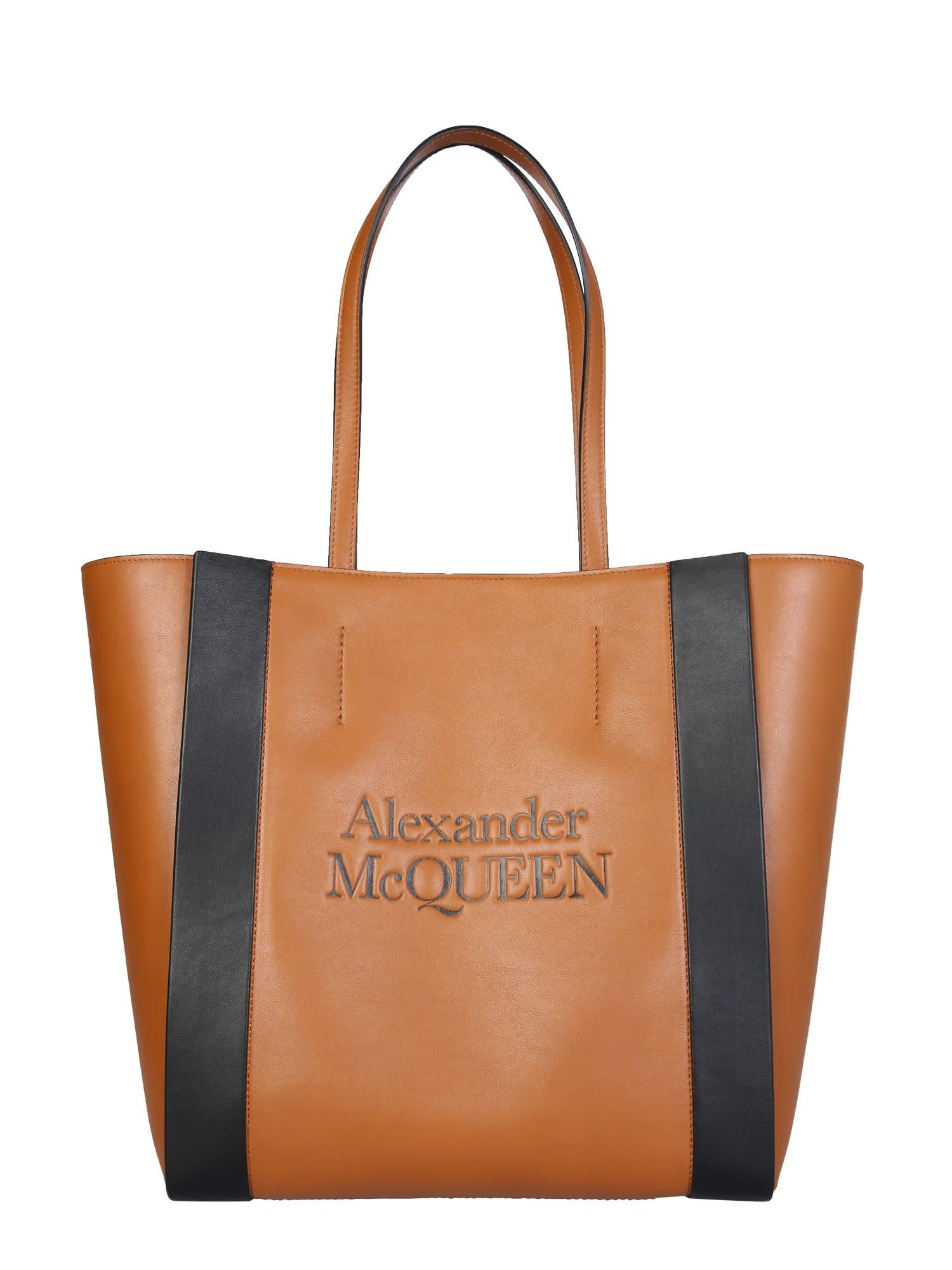 Alexander Mcqueen Totes SIGNATURE SHOPPING BAG
