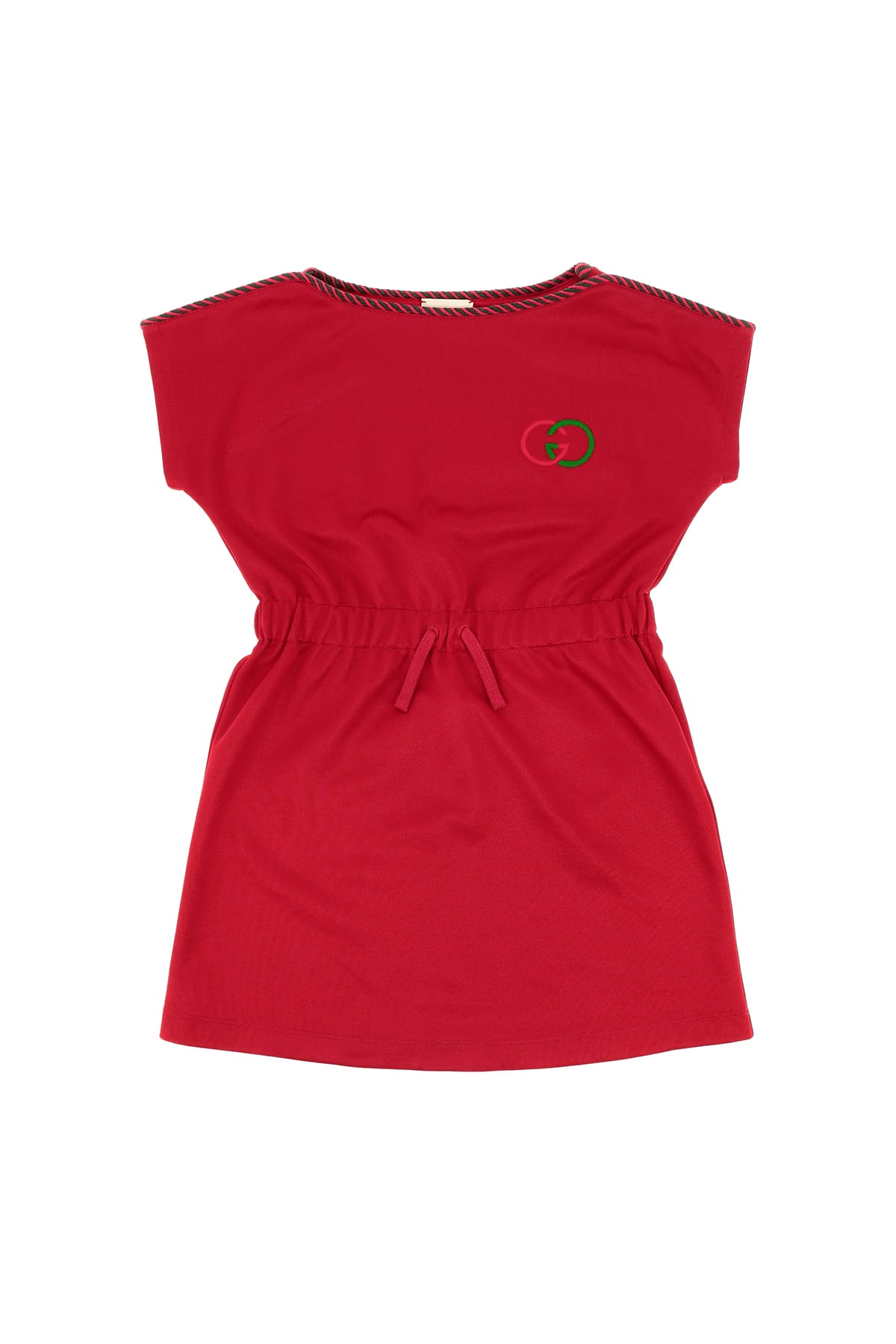Buy Gucci Technical Jersey Dress online, shop Gucci with free shipping
