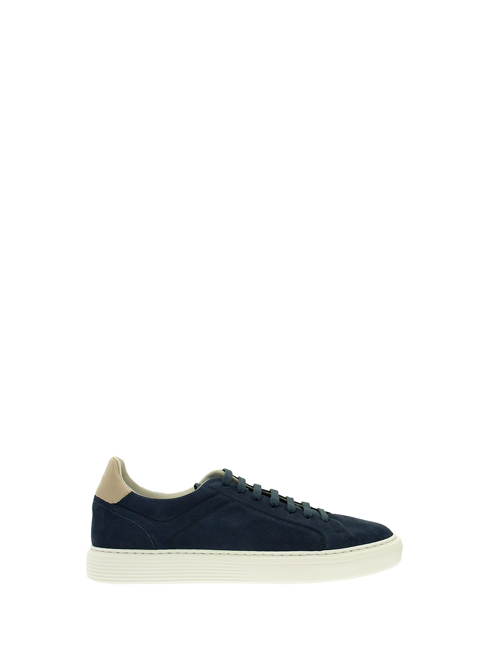 Brunello Cucinelli WASHED SUEDE SNEAKERS